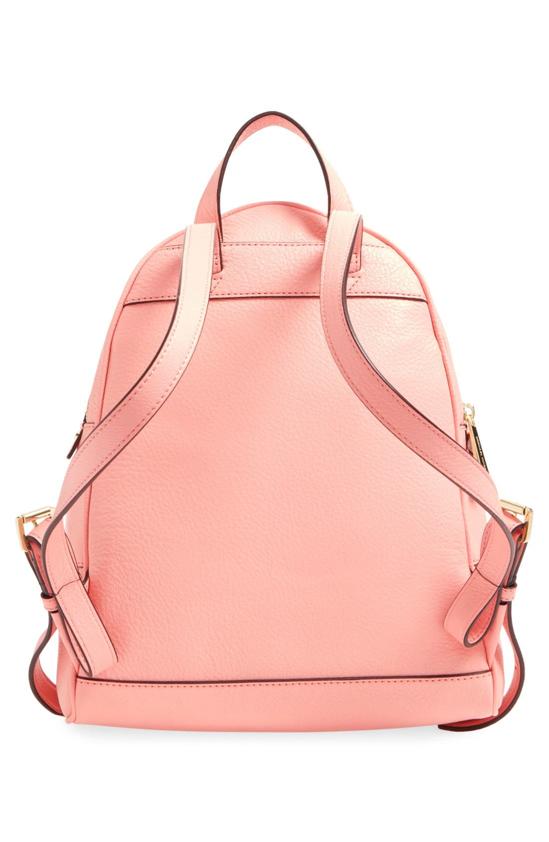 'Extra Small Rhea Zip' Leather Backpack,                             Alternate thumbnail 38, color,