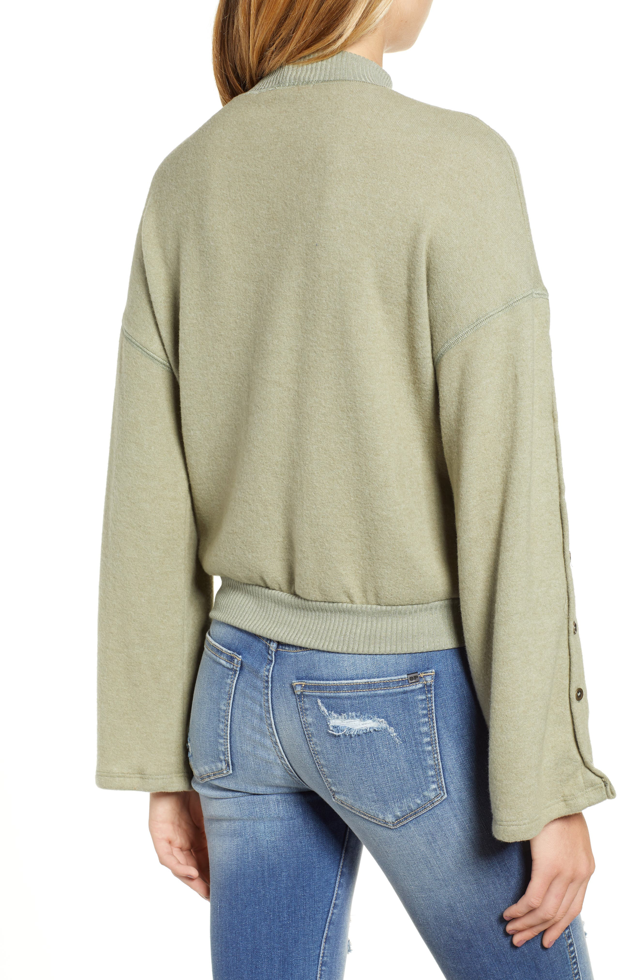 Starstruck Mock Neck Pullover,                             Alternate thumbnail 2, color,                             CAPERS