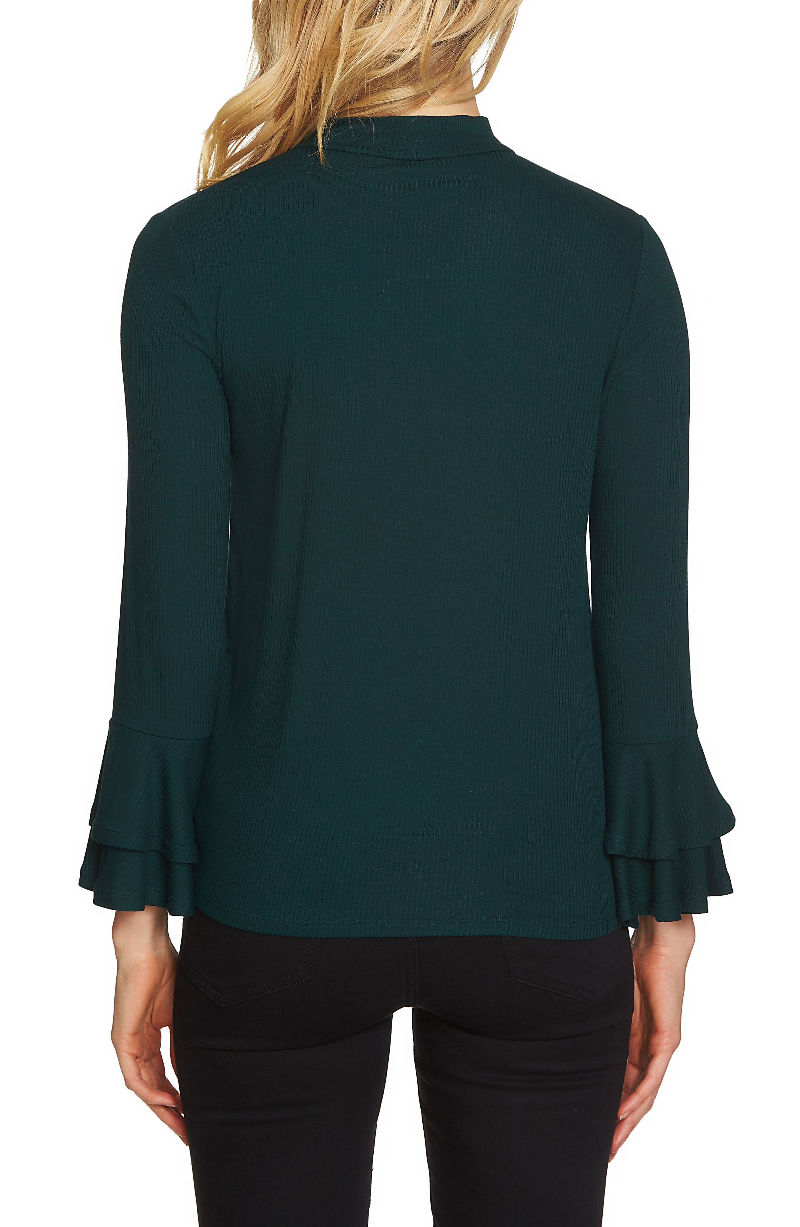 Bell Sleeve Top,                             Alternate thumbnail 8, color,