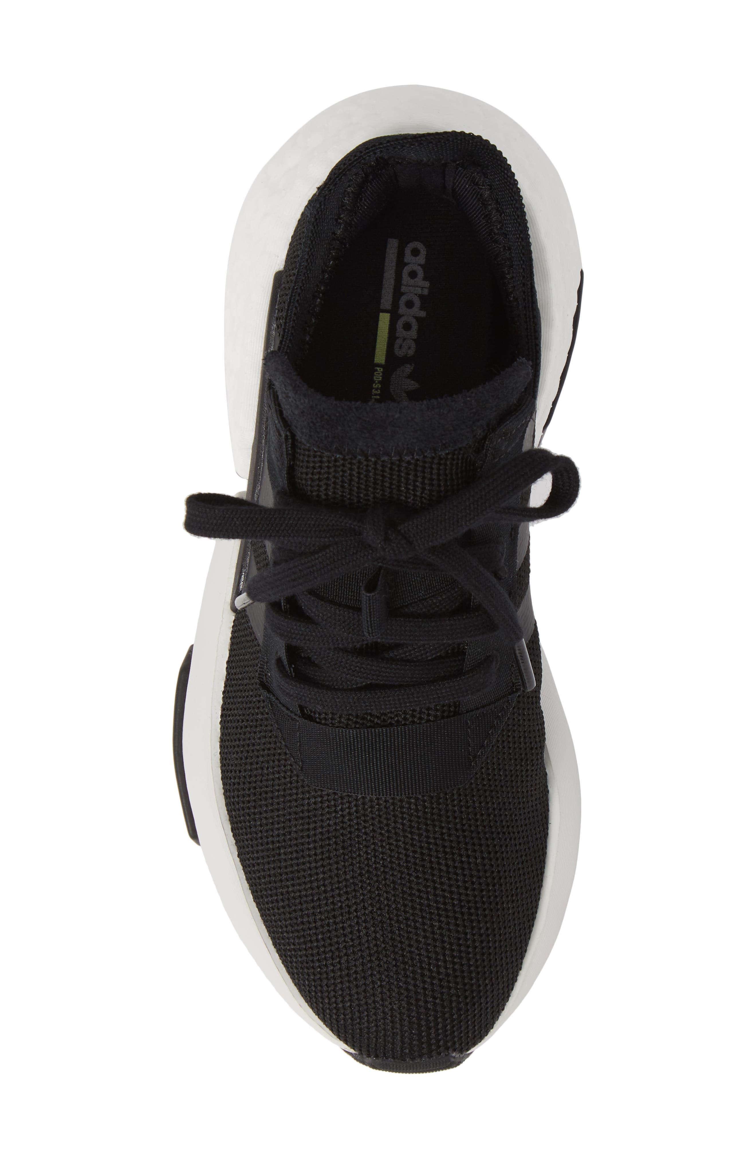 POD-S3.1 Sneaker,                             Alternate thumbnail 5, color,                             CORE BLACK/ BLACK/ LEGEND IVY