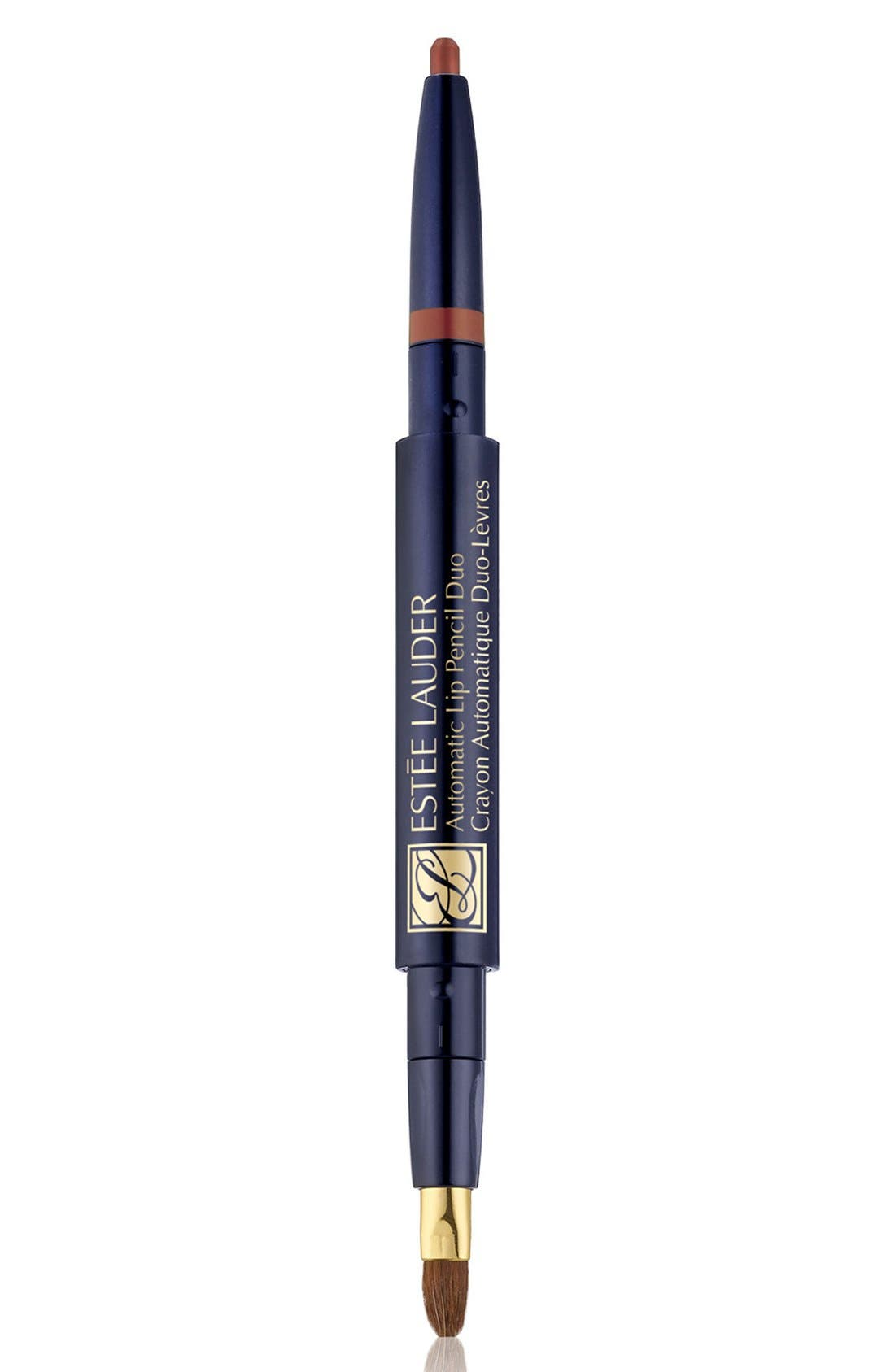 ESTÉE LAUDER,                             Automatic Lip Pencil Duo,                             Main thumbnail 1, color,                             SPICE