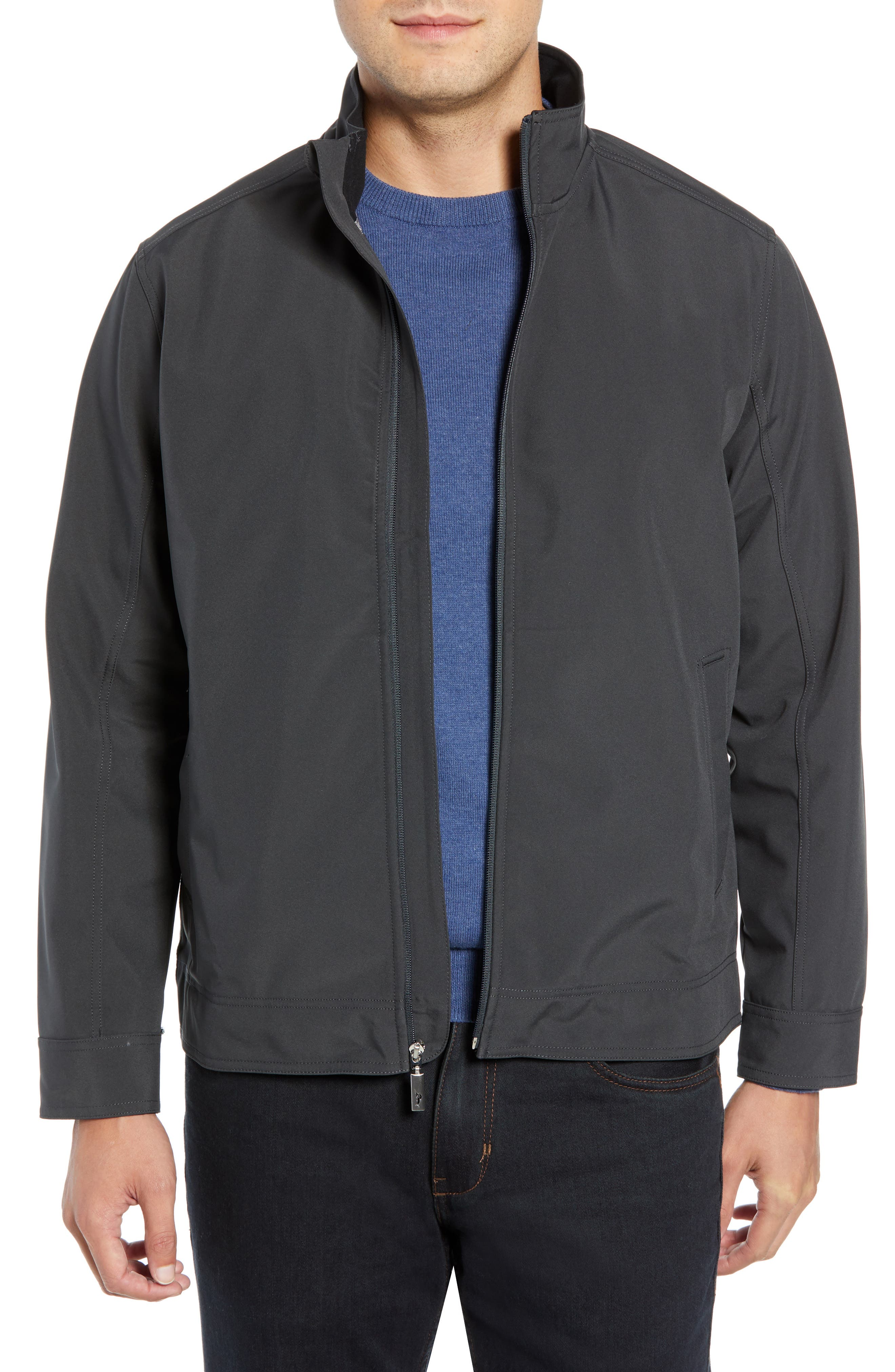 Ace Flier Zip Jacket,                             Main thumbnail 1, color,                             ASH GREY