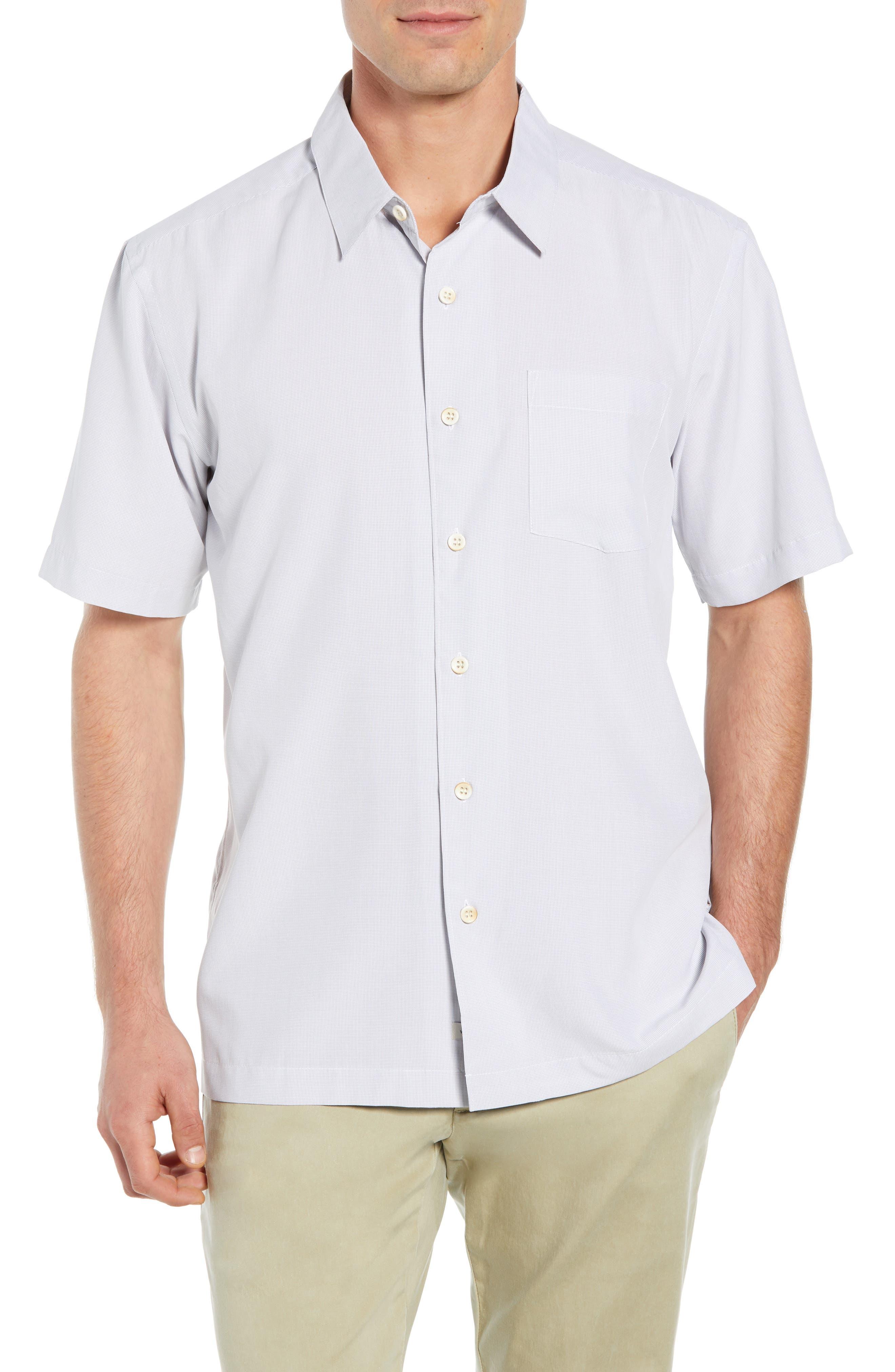 Cane Island Classic Fit Camp Shirt,                         Main,                         color, 101