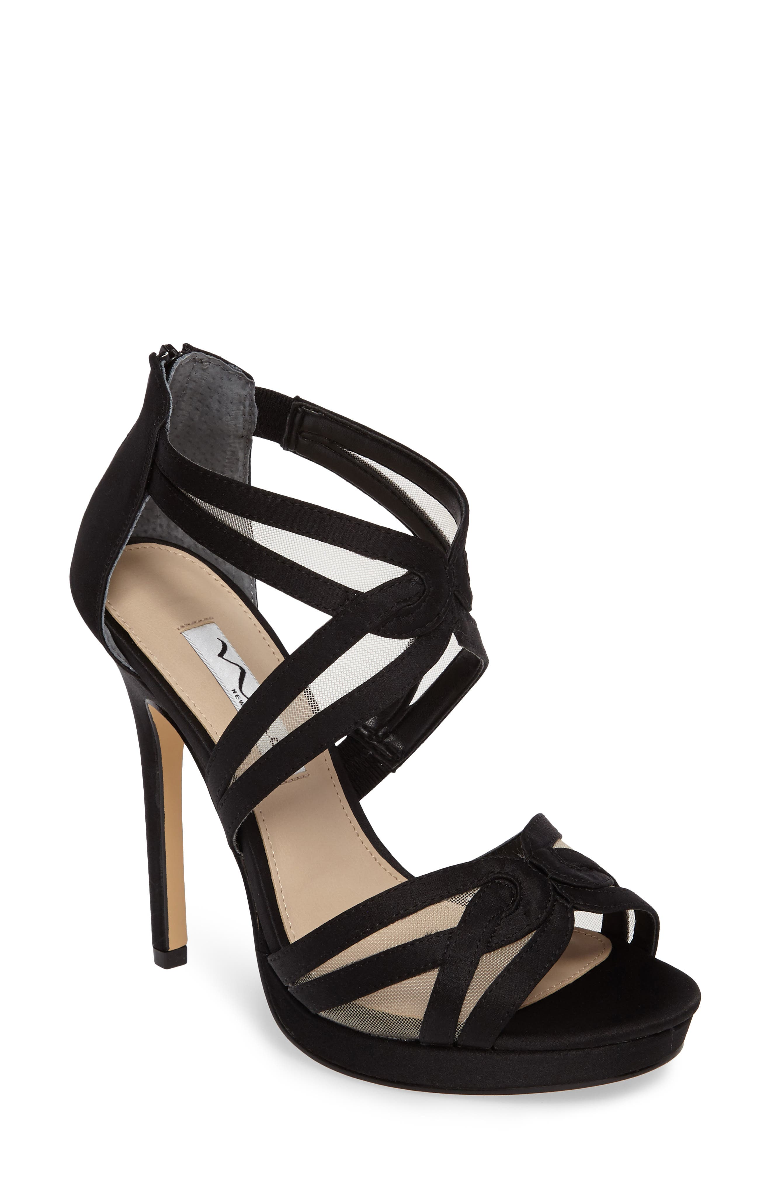 Fayette Strappy Sandal,                         Main,                         color, 003