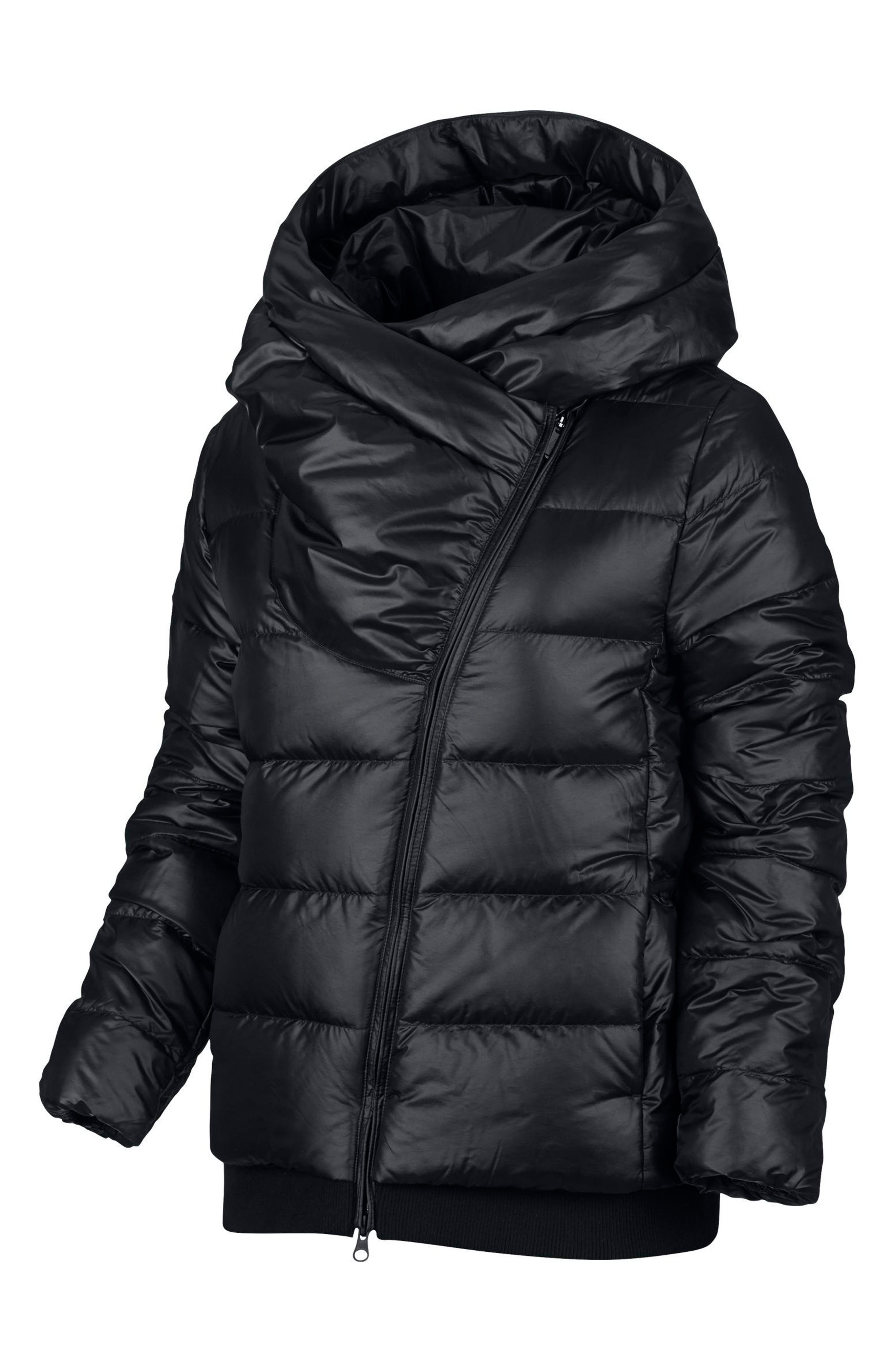 Sportswear Women's Hooded Down Jacket,                             Alternate thumbnail 5, color,                             010