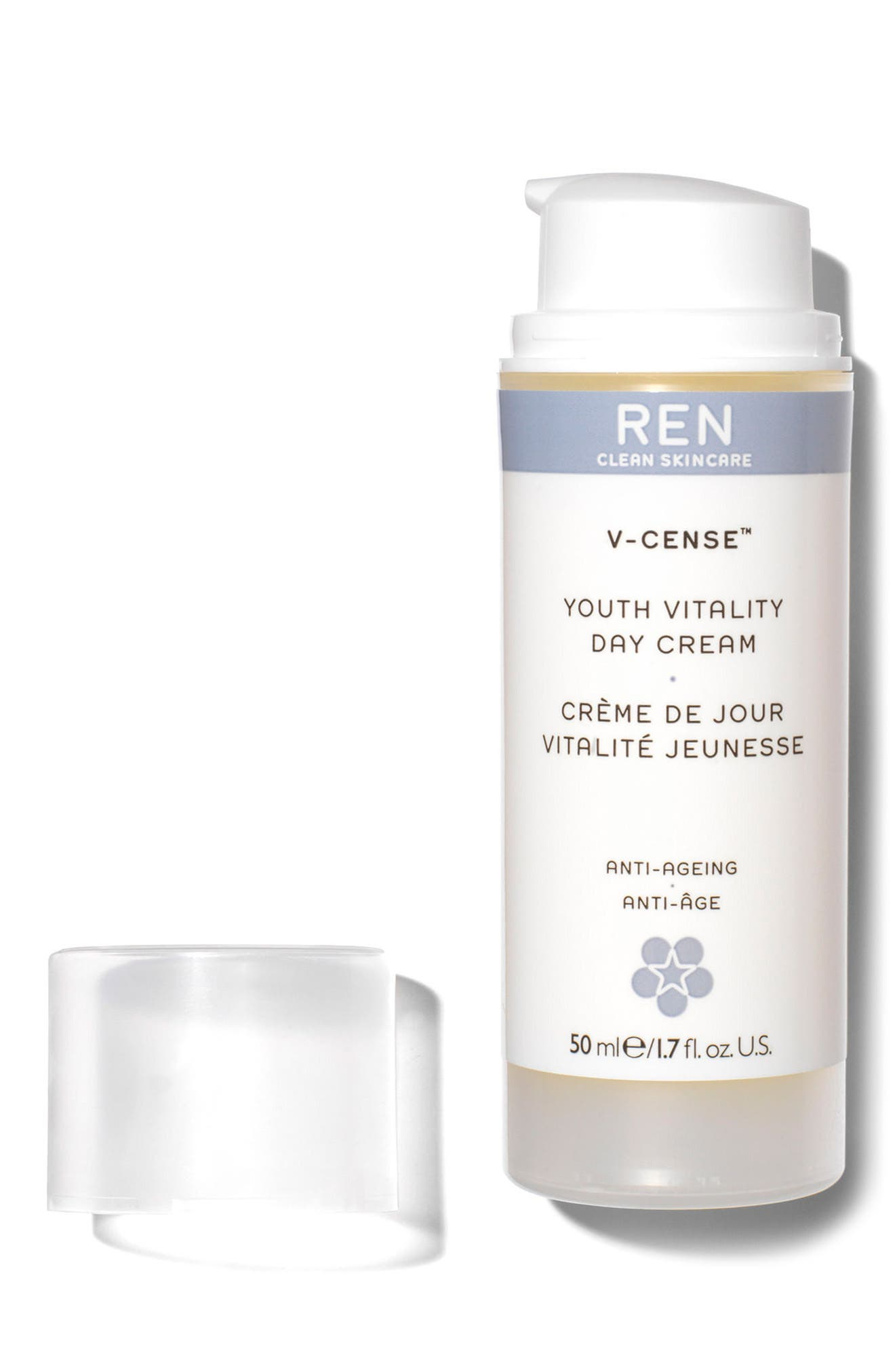 SPACE.NK.apothecary REN V-Cense<sup>™</sup> Youth Vitality Day Cream,                             Alternate thumbnail 3, color,                             000