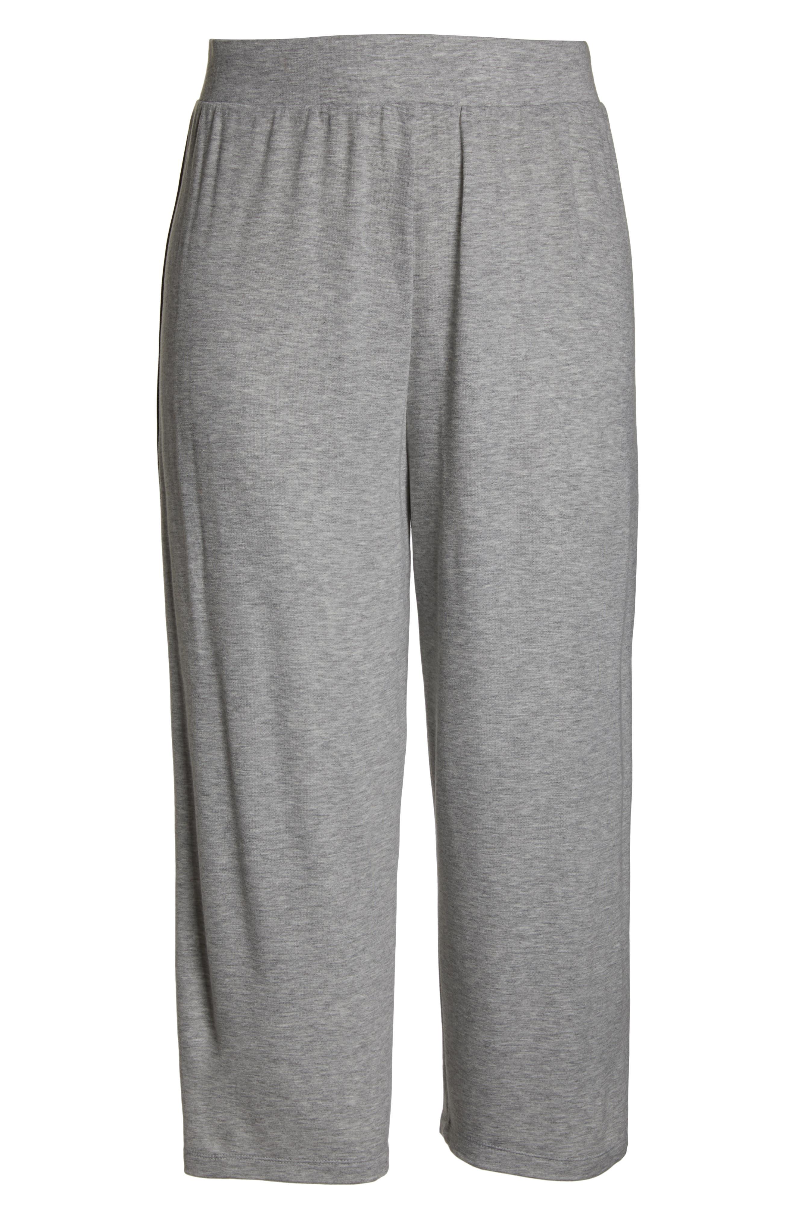 BP.,                             Sport High Rise Wide Leg Crop Pants,                             Alternate thumbnail 6, color,                             021