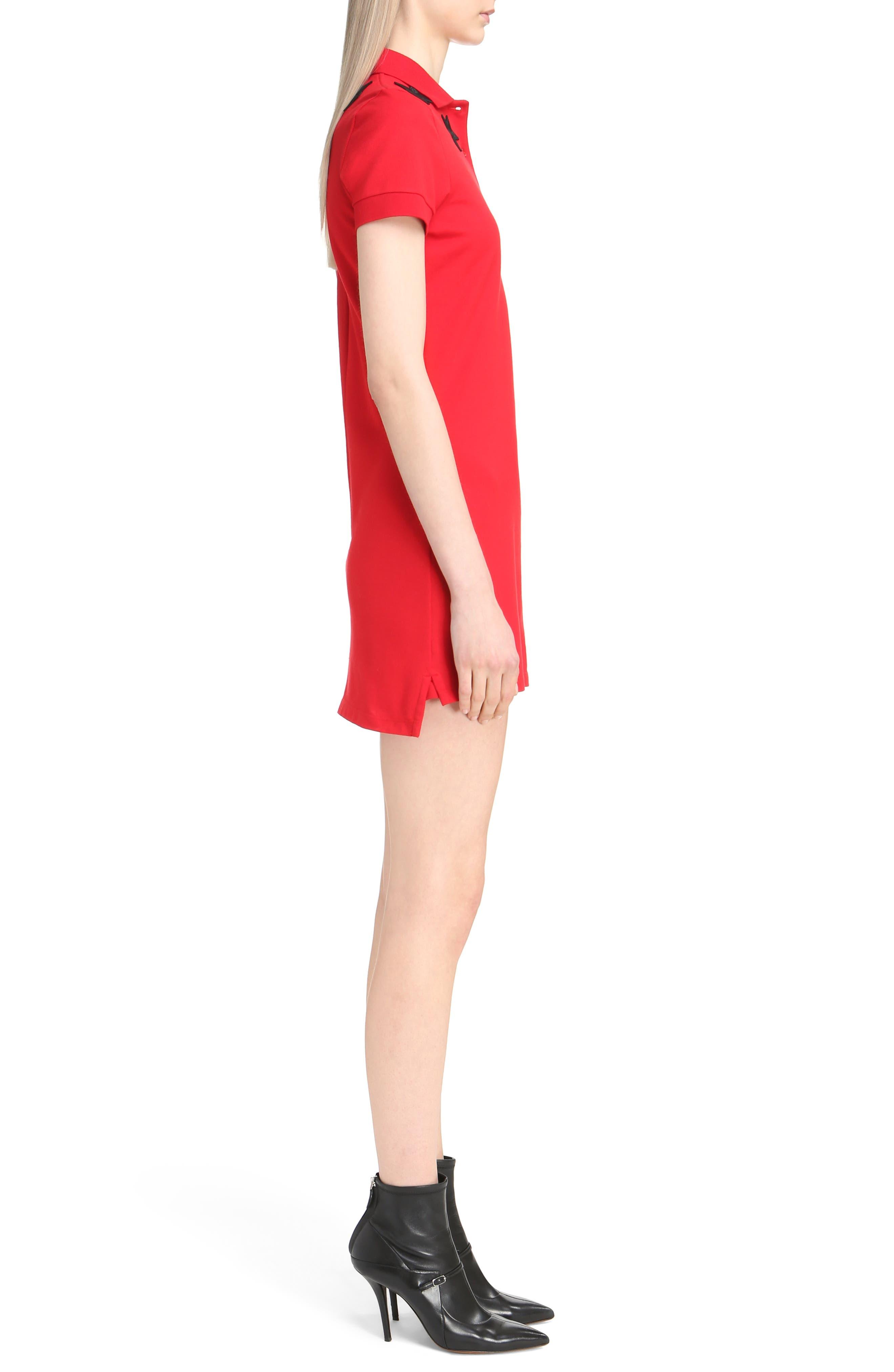 Star Embellished Polo Dress,                             Alternate thumbnail 3, color,                             606