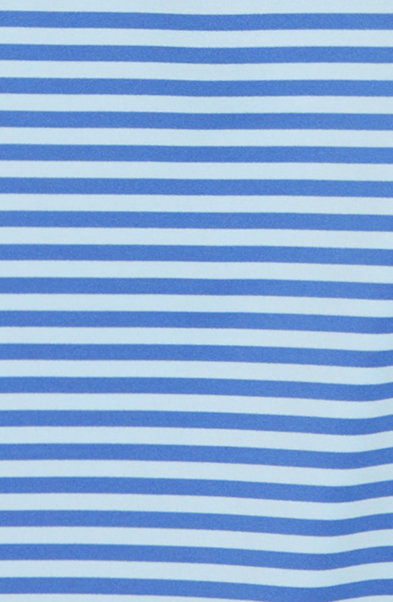 Feeder Stripe Performance Polo,                             Alternate thumbnail 2, color,                             SURF BLUE