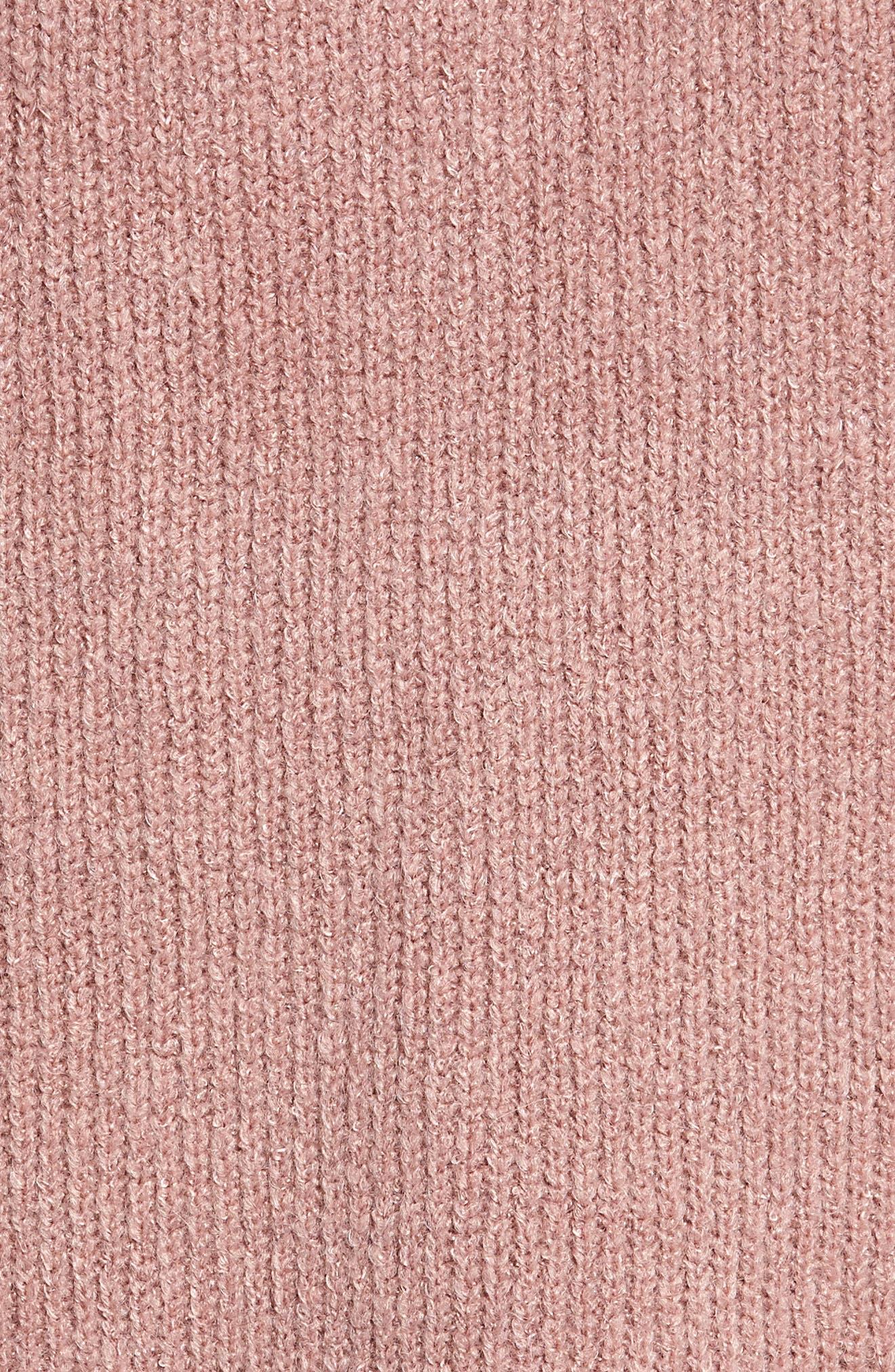 Cowl Neck Sweater,                             Alternate thumbnail 5, color,                             500