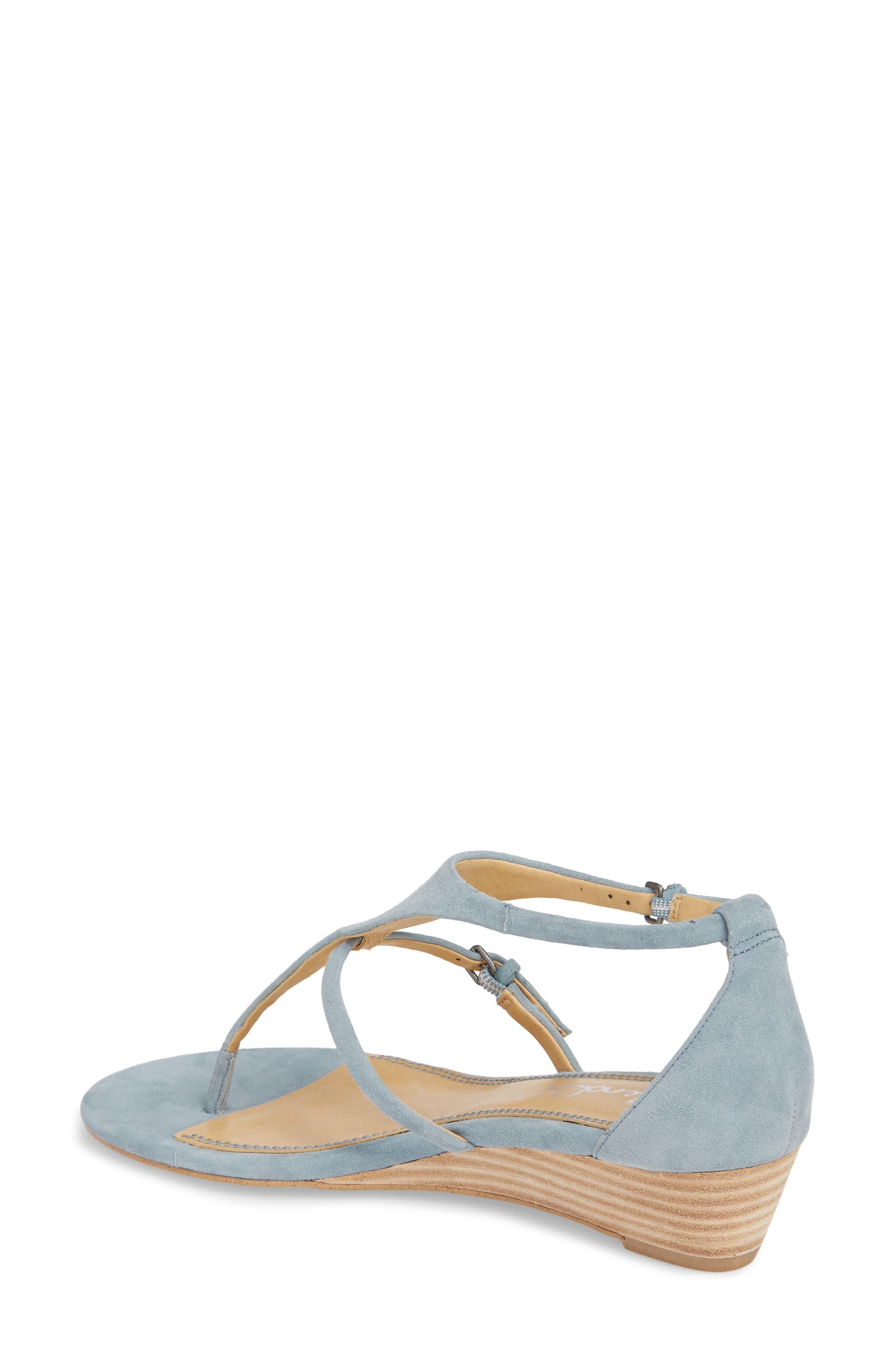 Brooklyn V-Strap Wedge Sandal,                             Alternate thumbnail 8, color,