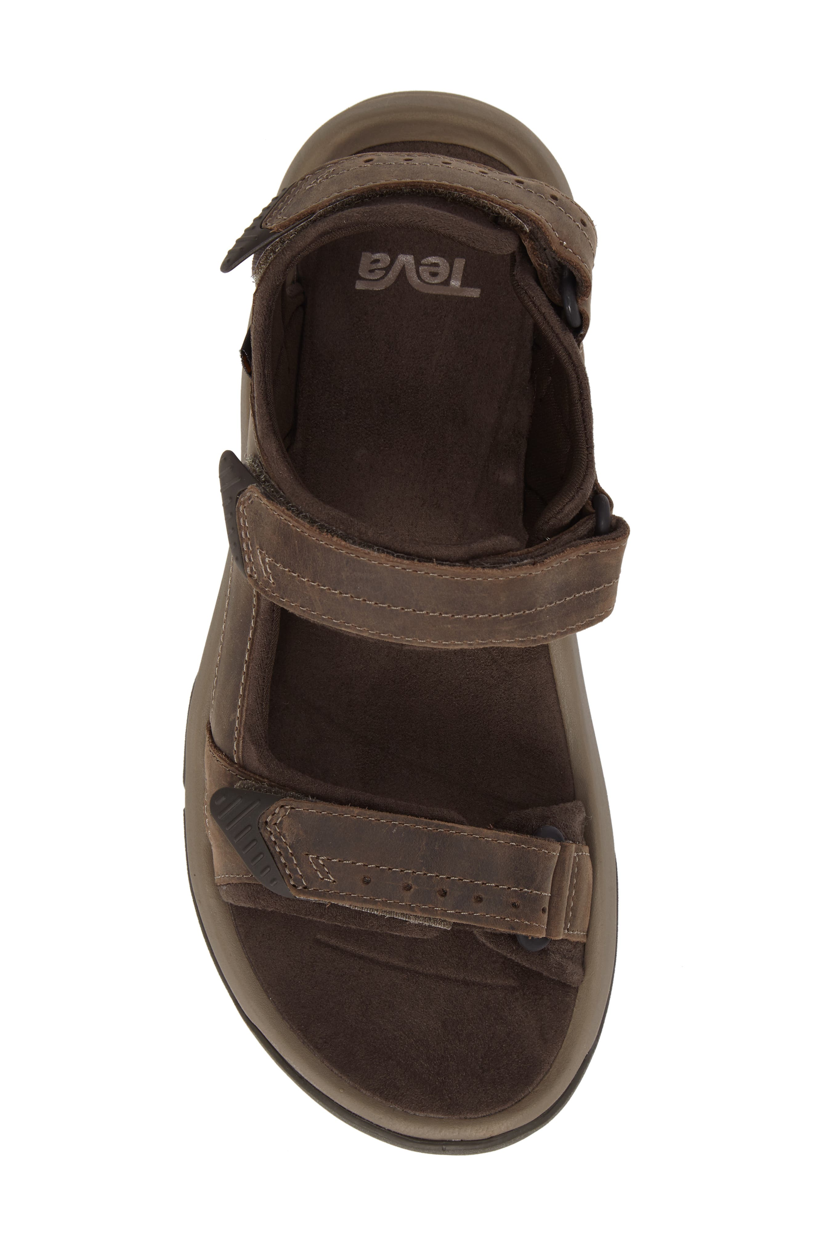 Langdon Sandal,                             Alternate thumbnail 5, color,                             WALNUT