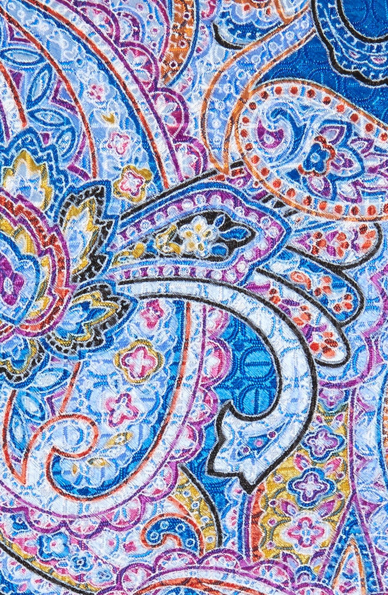 Paisley Silk Tie,                             Alternate thumbnail 2, color,                             410