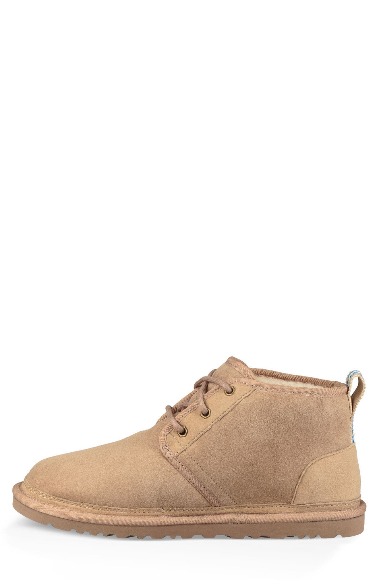 Neumel 40:40:40 Anniversary Genuine Shearling Boot,                             Alternate thumbnail 3, color,                             SAND