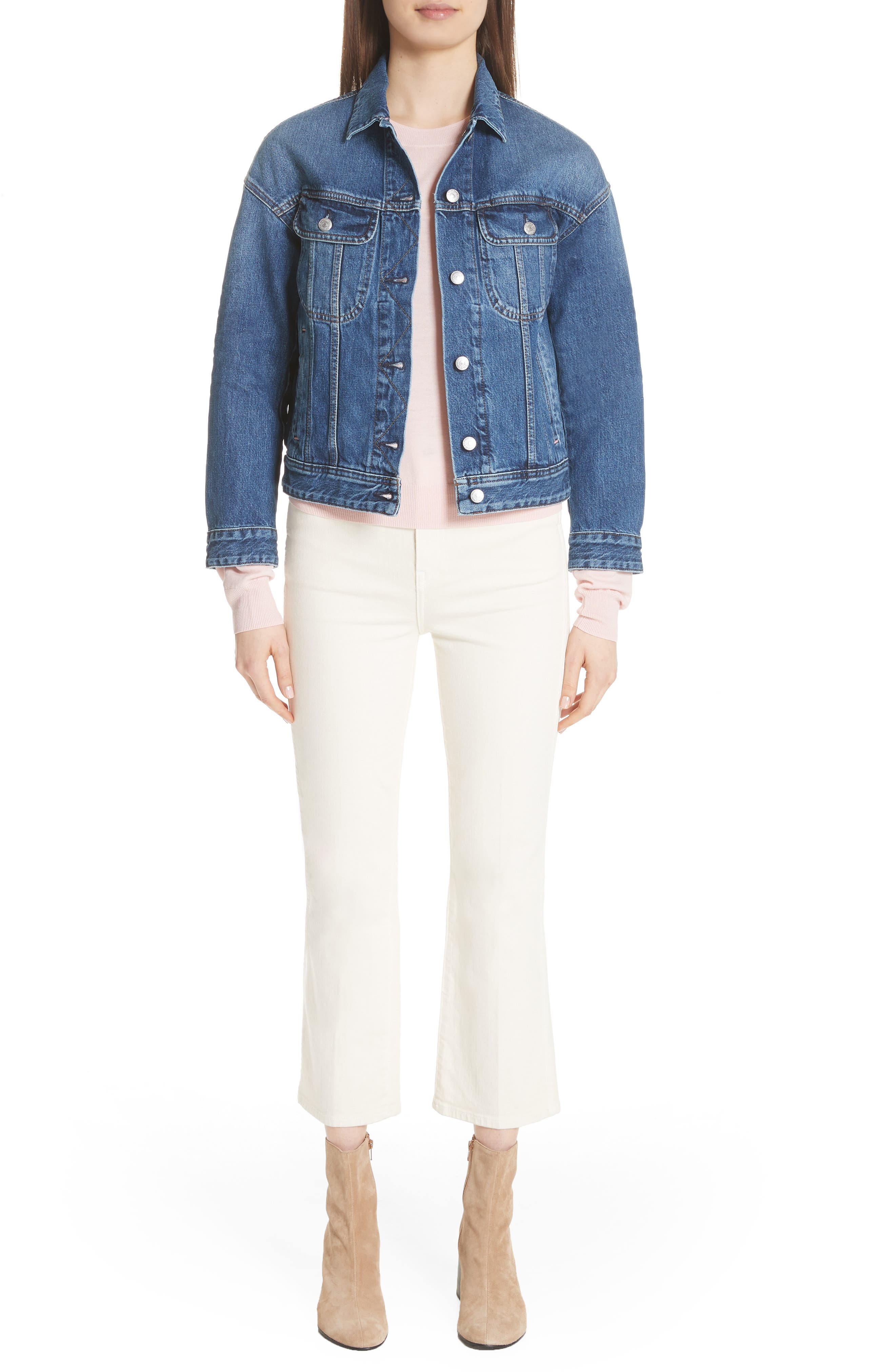 Lamp Denim Jacket,                             Alternate thumbnail 7, color,                             400