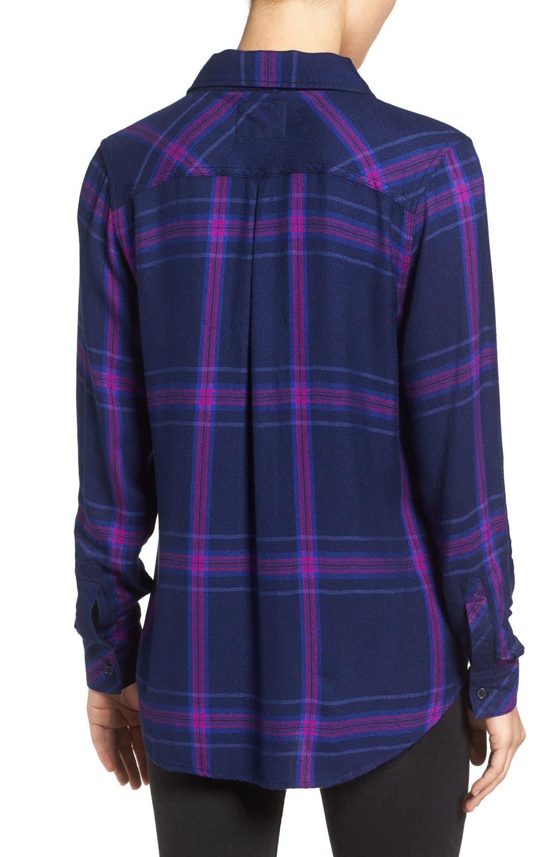 Hunter Plaid Shirt,                             Alternate thumbnail 393, color,