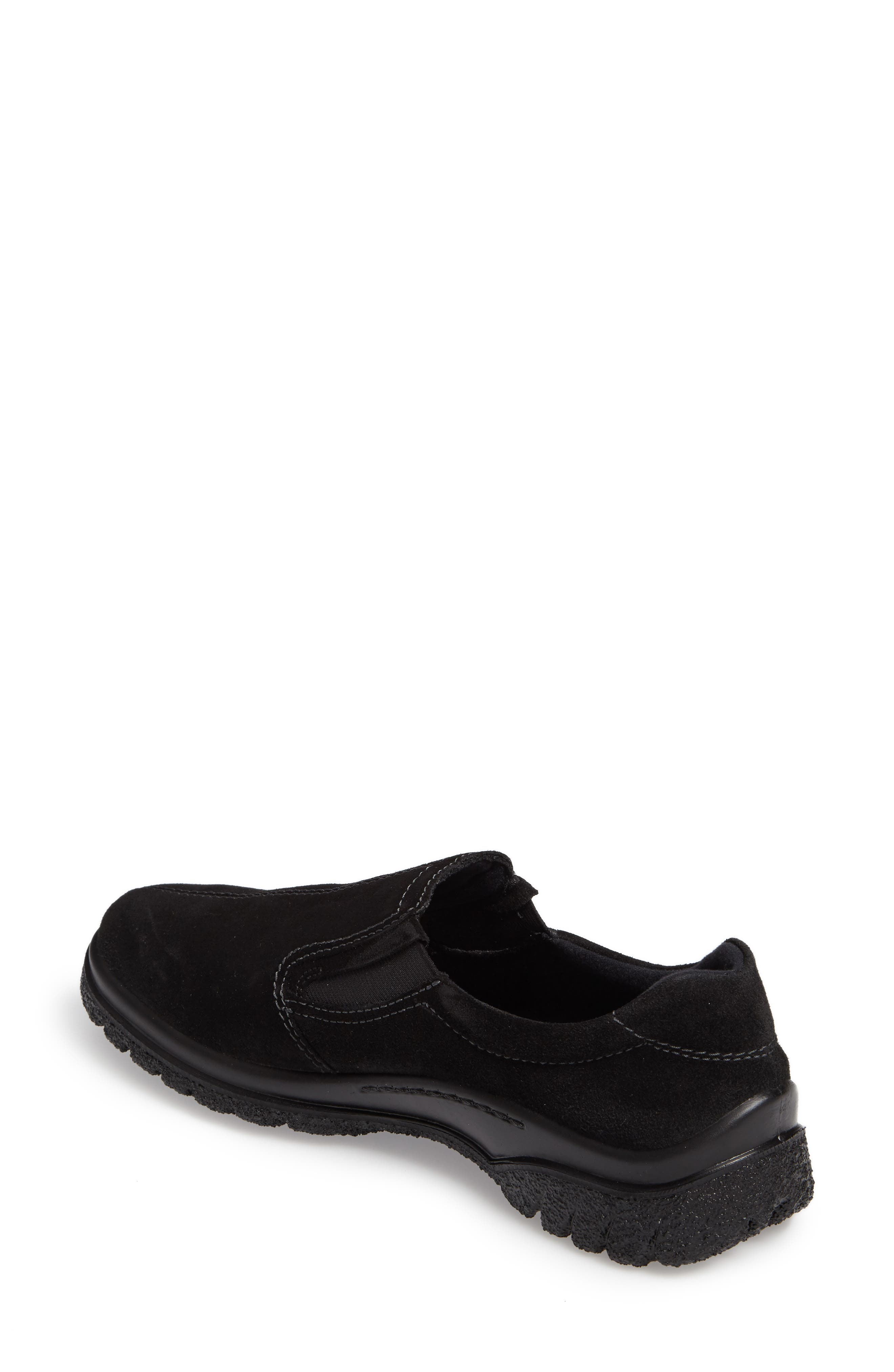 Parson Waterproof Gore-Tex<sup>®</sup> Slip-On Sneaker,                             Alternate thumbnail 2, color,                             001