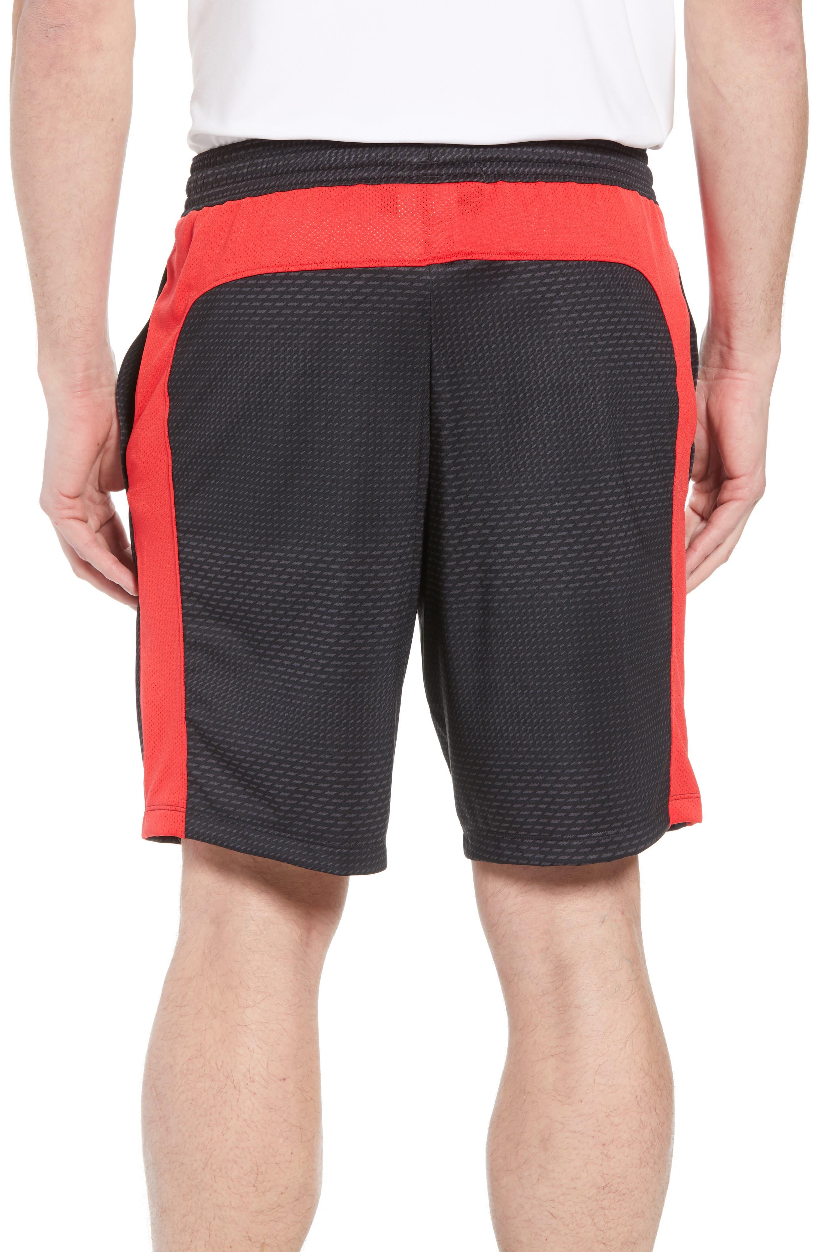 UNDER ARMOUR,                             Raid 2.0 Classic Fit Shorts,                             Alternate thumbnail 2, color,                             001