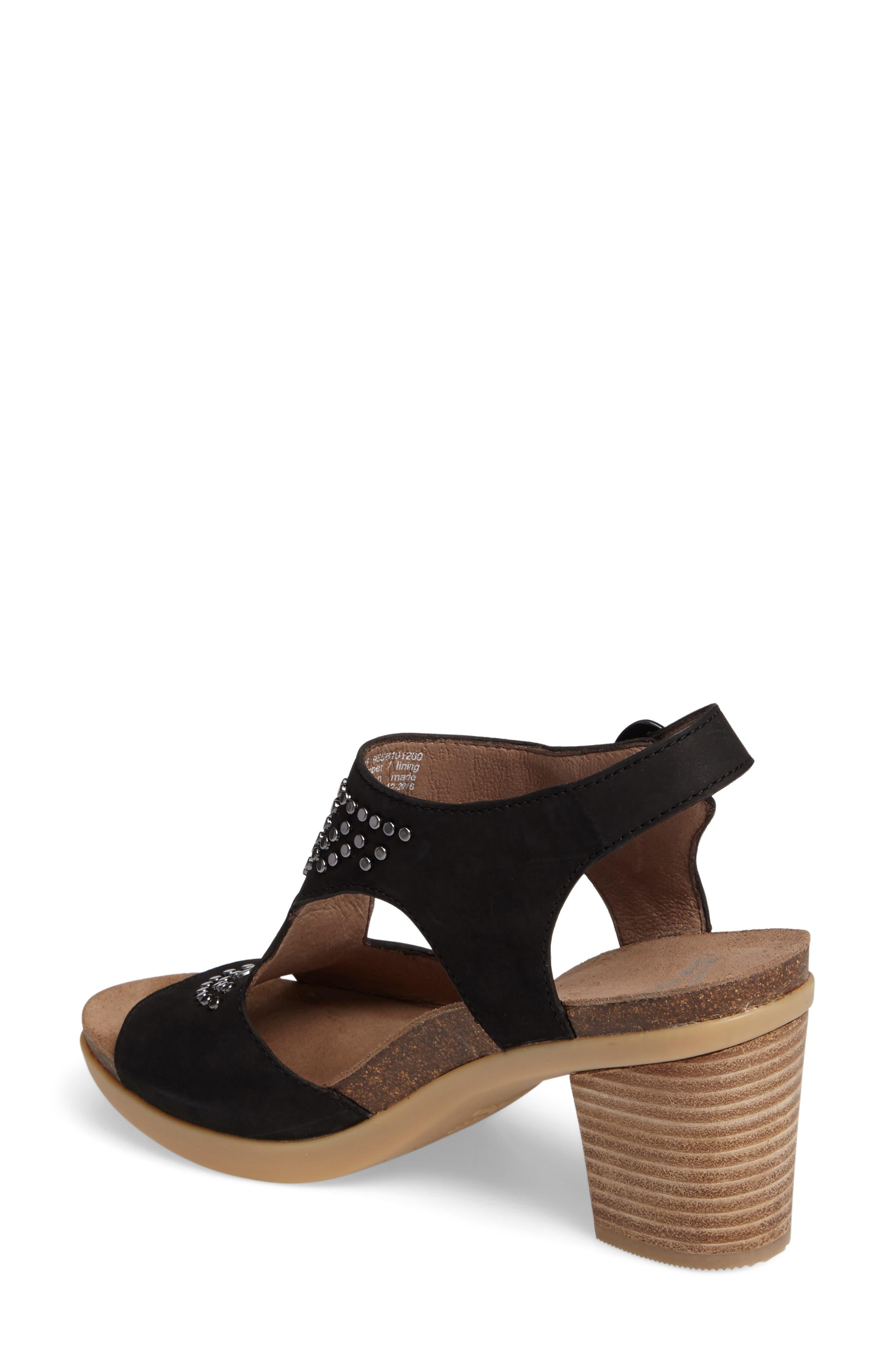 Deandra Studded Sandal,                             Alternate thumbnail 2, color,                             001