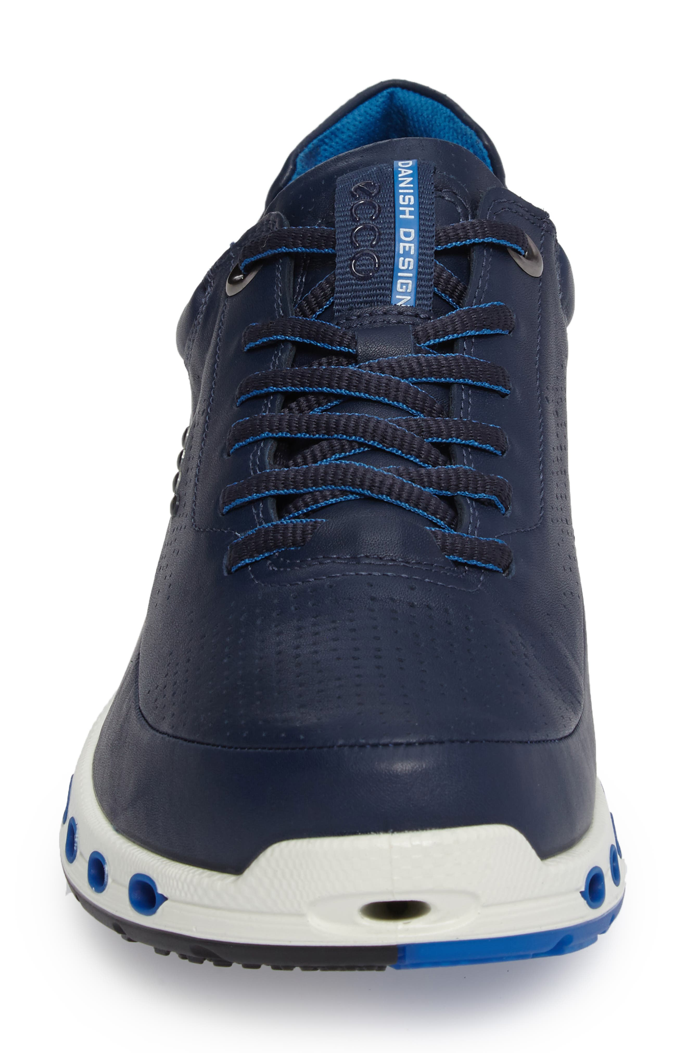 Cool 2.0 Leather GTX Sneaker,                             Alternate thumbnail 4, color,                             NAVY