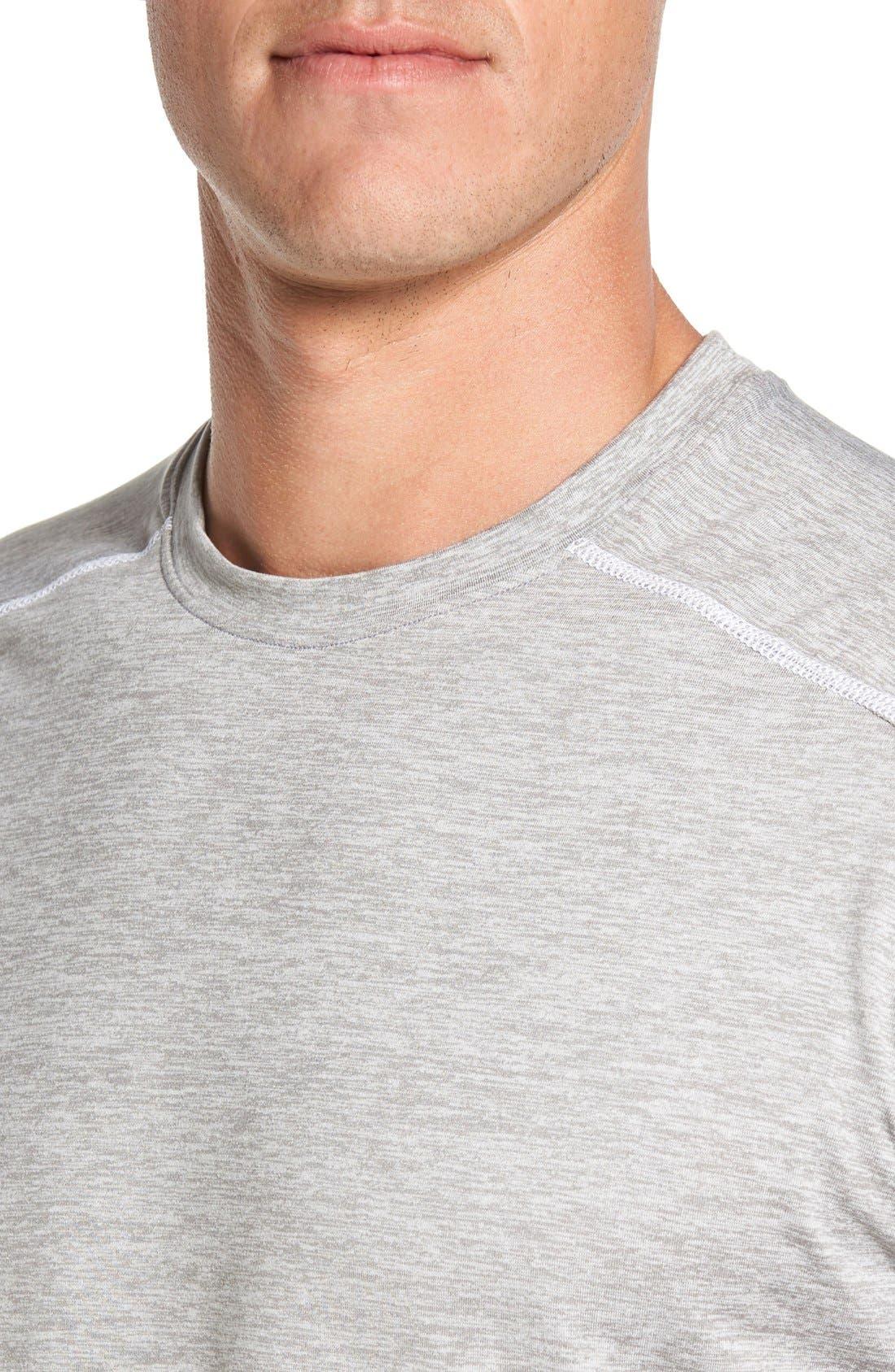 'Cooldown' Moisture Wicking Training T-Shirt,                             Alternate thumbnail 4, color,                             030