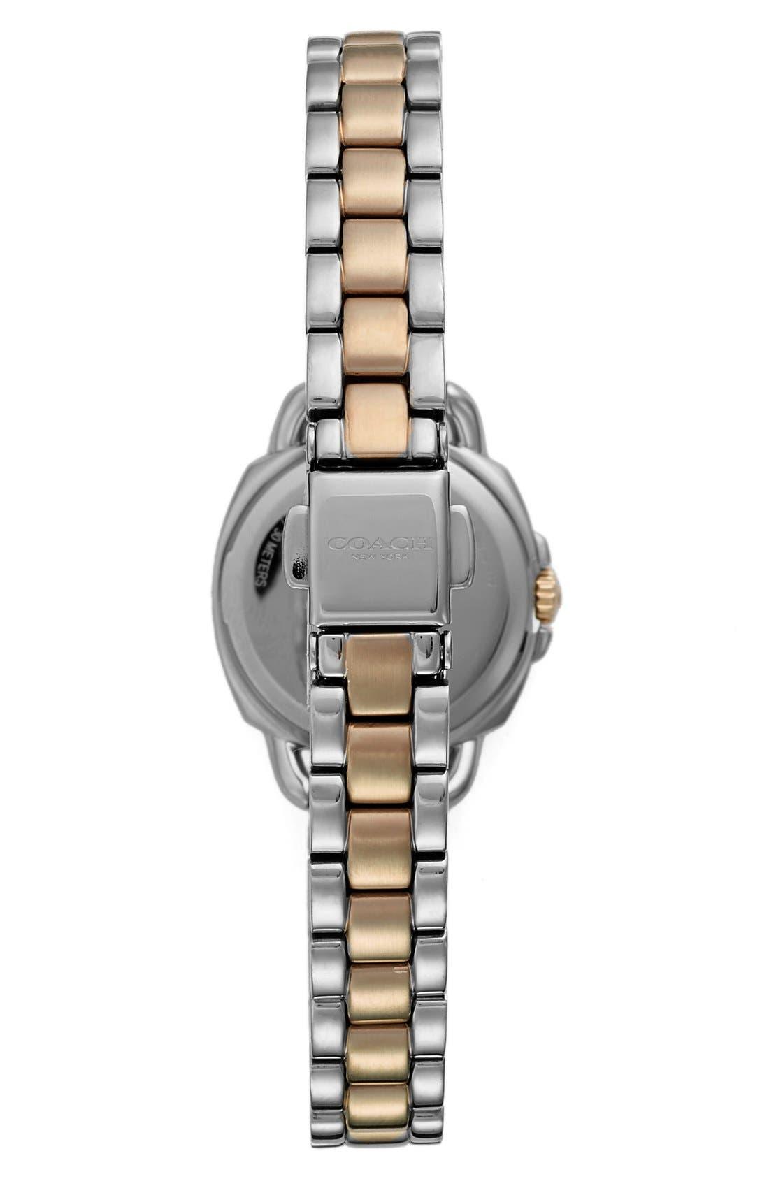 'Tatum' Crystal Bezel Bracelet Watch, 24mm,                             Alternate thumbnail 2, color,                             710