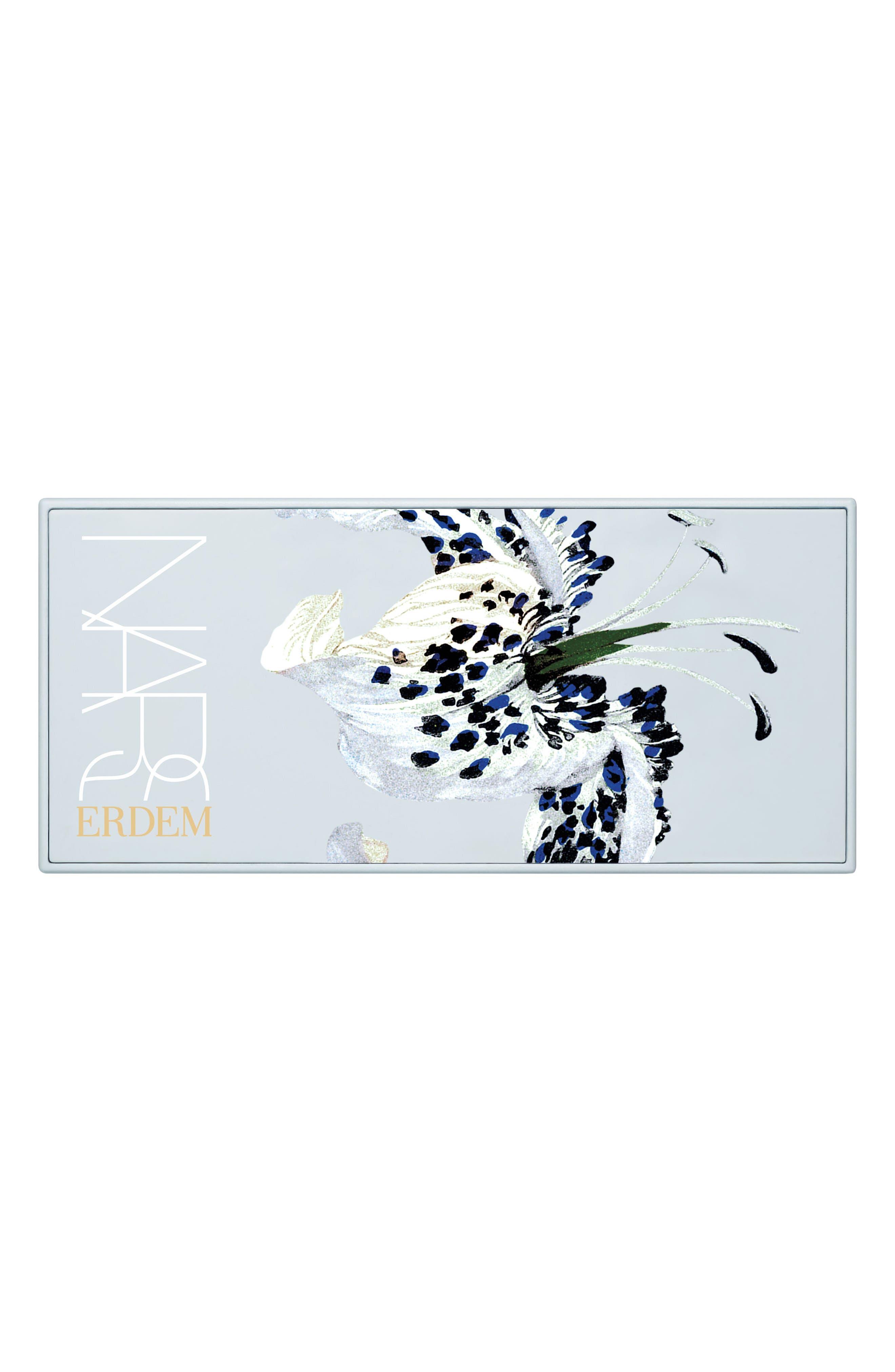 x Erdem Strange Flowers Eyeshadow Palette,                             Alternate thumbnail 3, color,                             000