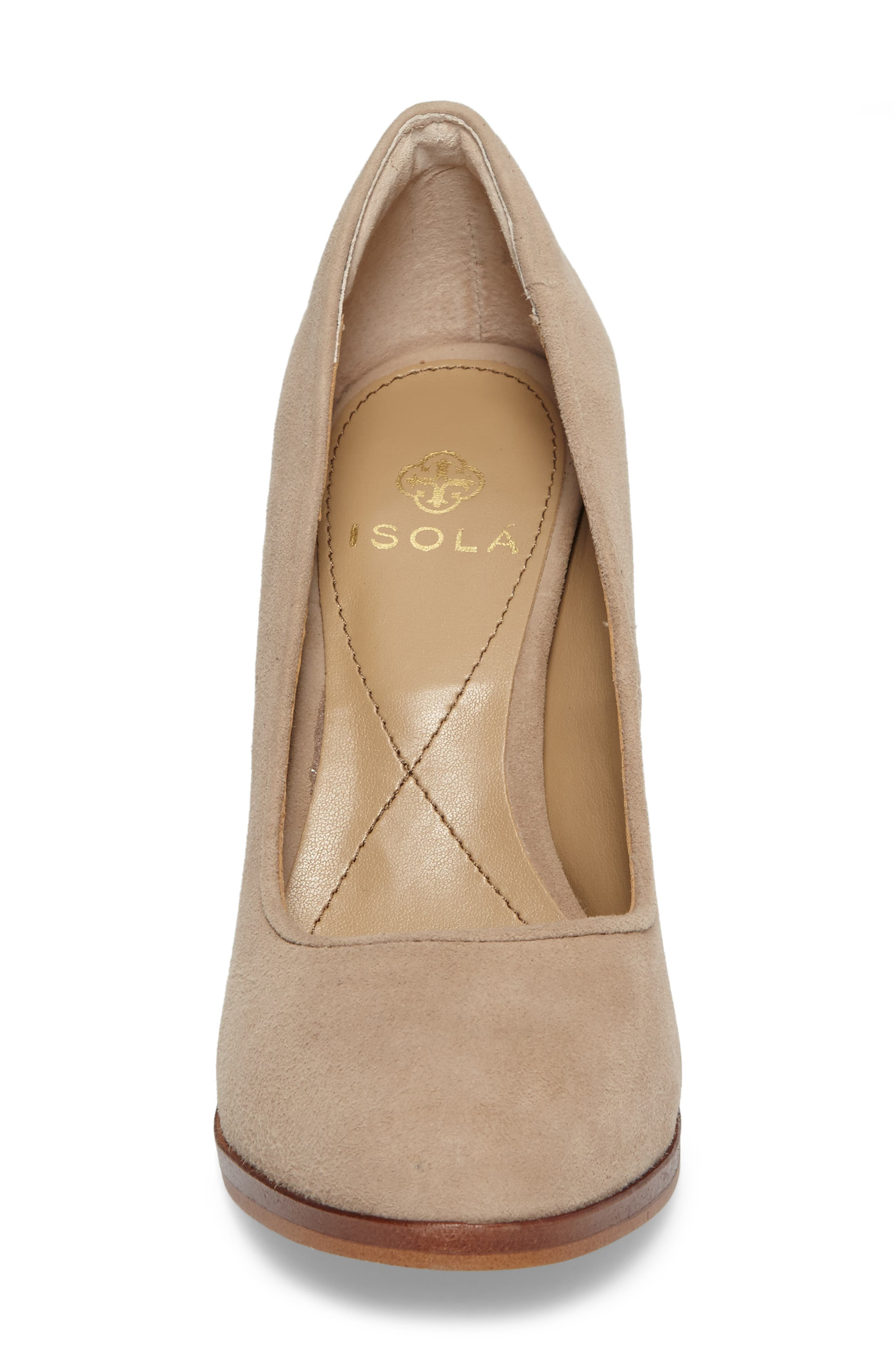 Hayley Pump,                             Alternate thumbnail 4, color,                             BAYWATER SUEDE