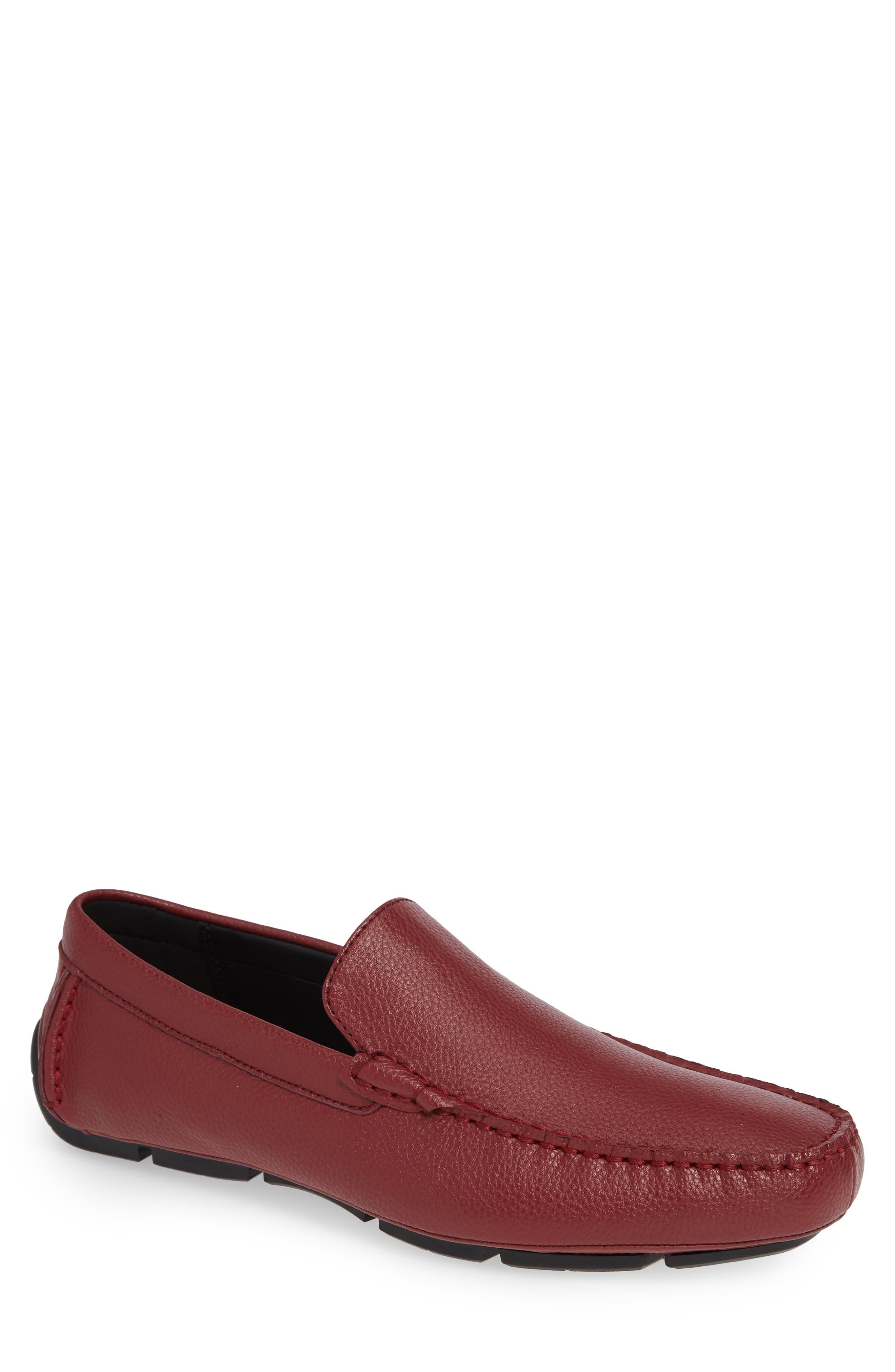 Calvin Klein Kaleb Driving Loafer, Red
