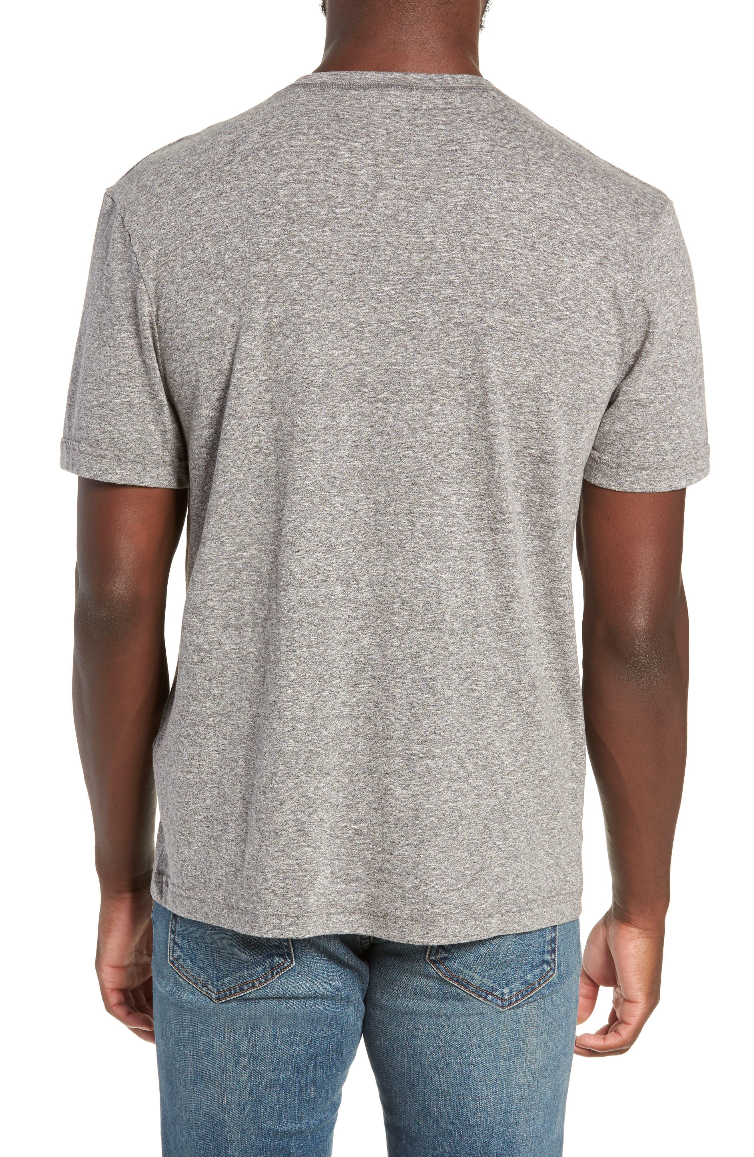 Triblend Henley Shirt,                             Alternate thumbnail 2, color,                             020