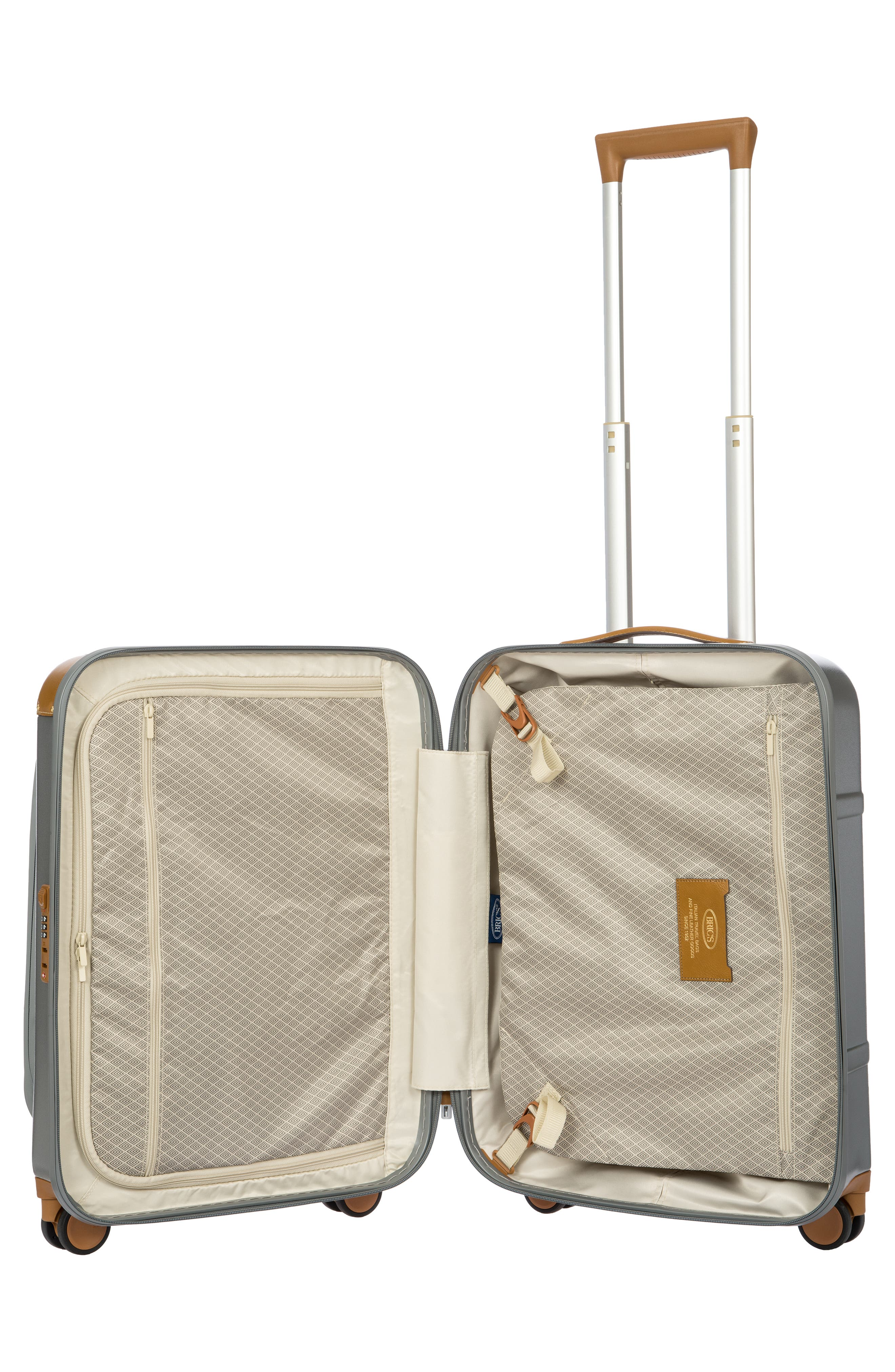Bellagio 2.0 21-Inch Rolling Carry-On,                             Alternate thumbnail 9, color,                             SILVER