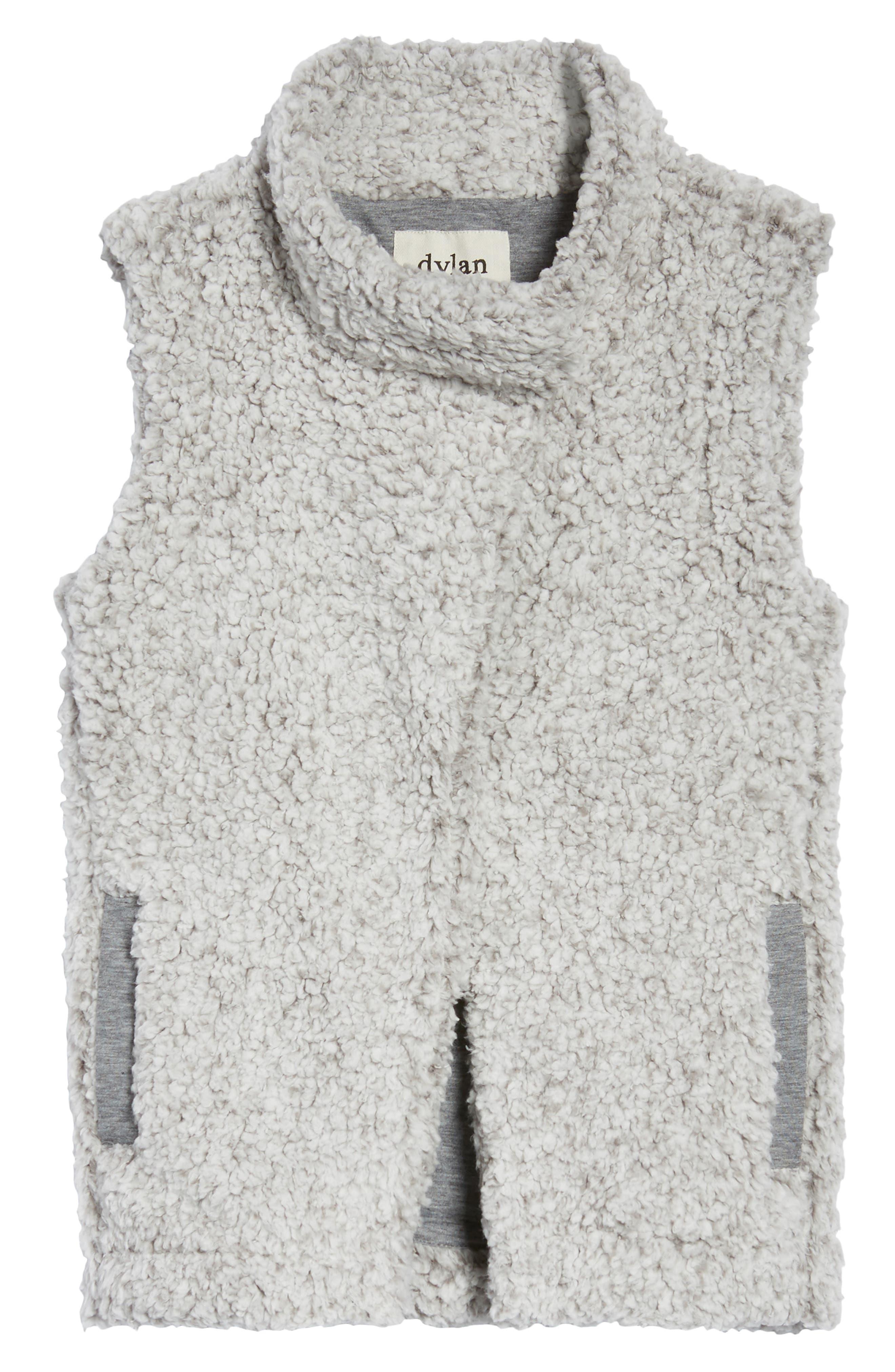 Frosty High Pile Fleece Vest,                             Alternate thumbnail 5, color,                             063
