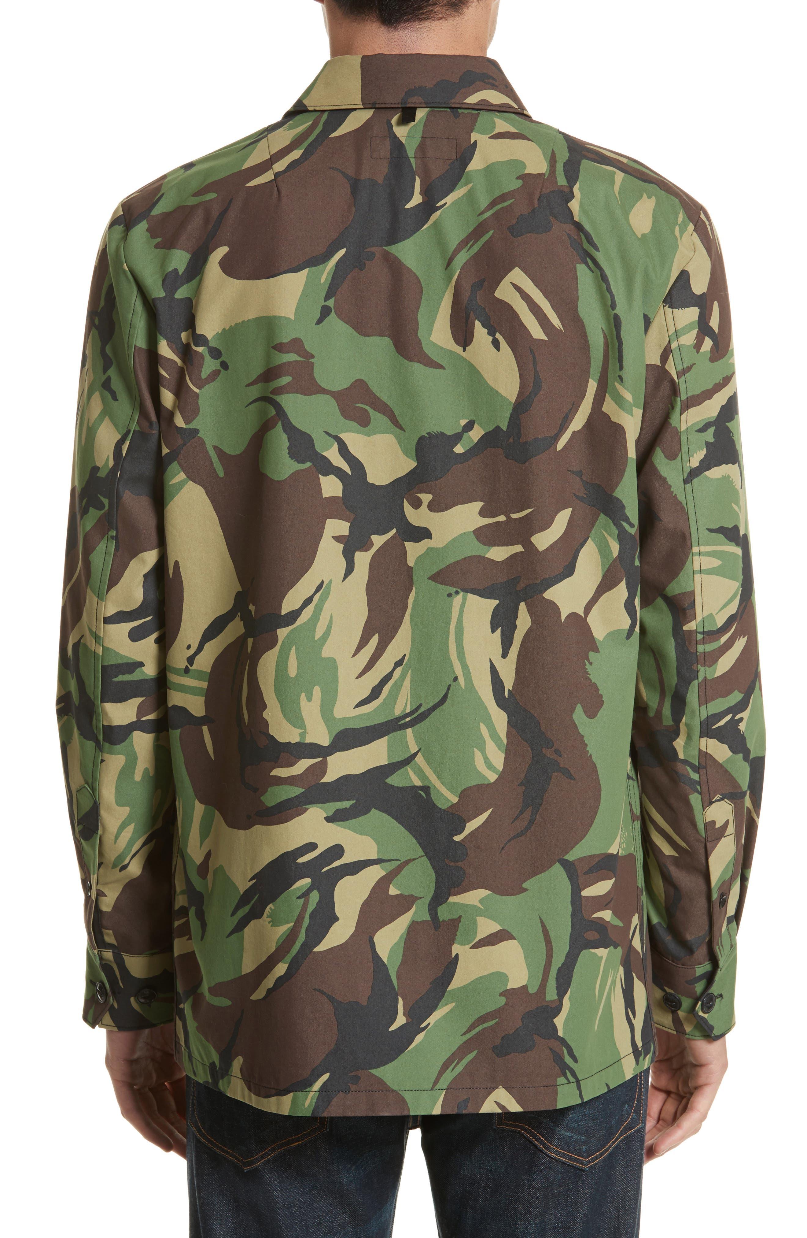 Heath Camo Shirt Jacket,                             Alternate thumbnail 2, color,