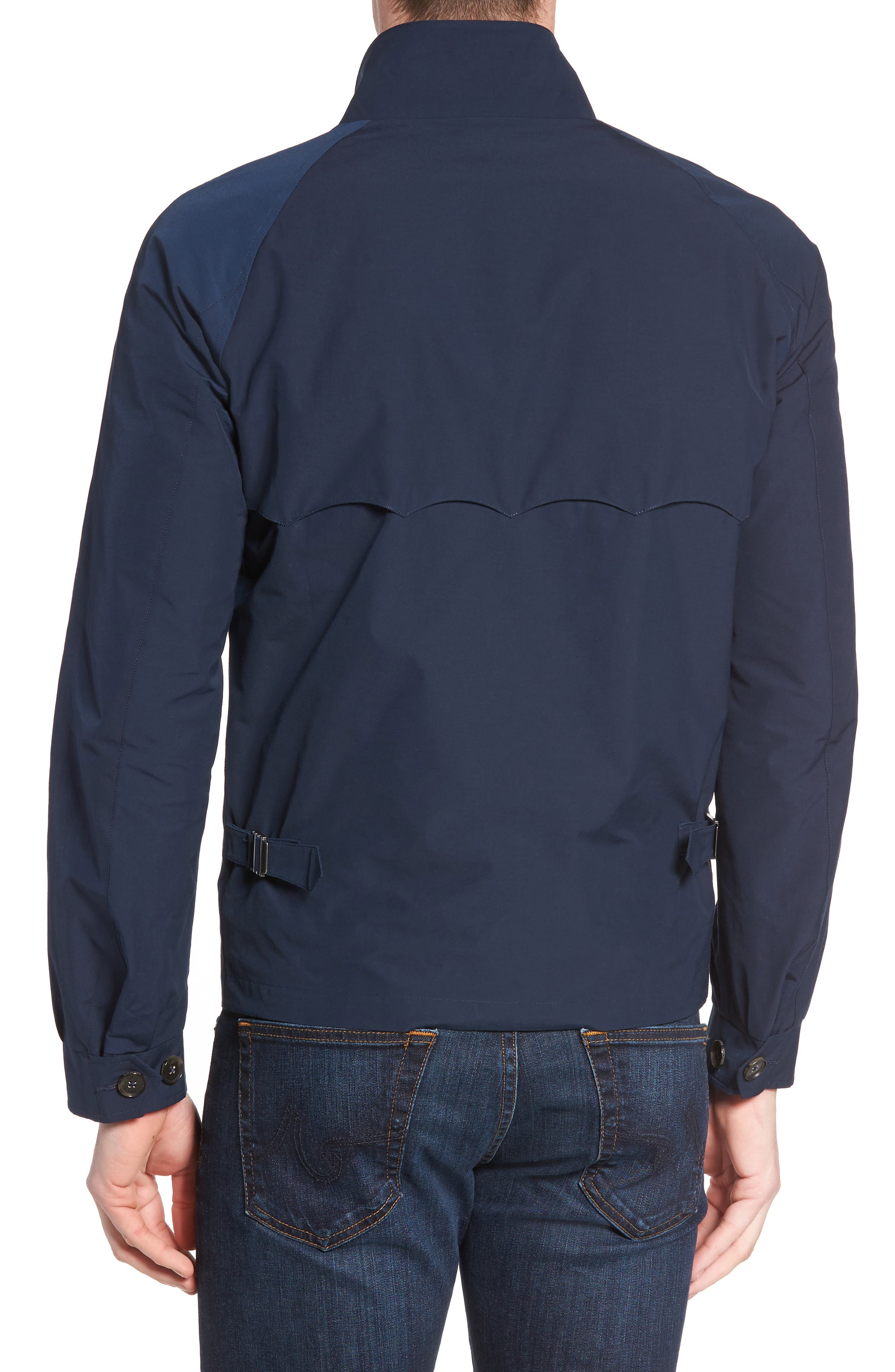G4 Water Repellent Harrington Jacket,                             Alternate thumbnail 2, color,                             NAVY