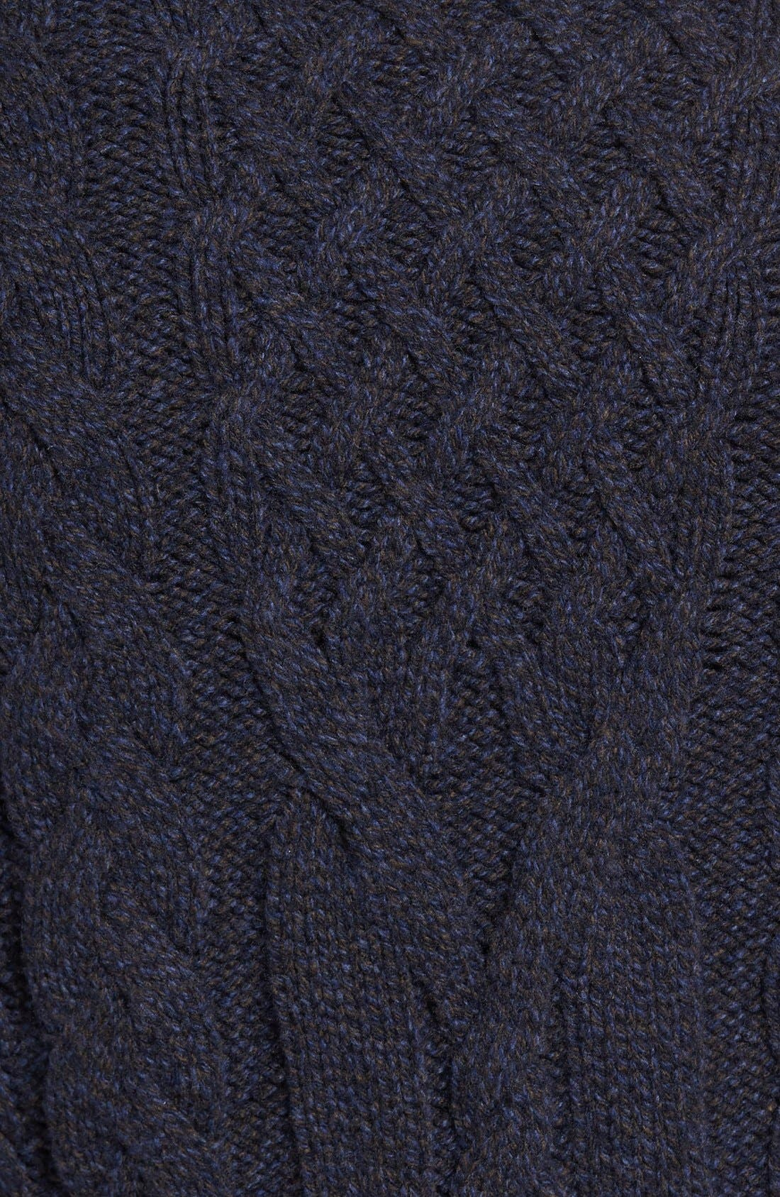 EIDOS,                             Napoli Cable Knit Wool Cardigan,                             Alternate thumbnail 6, color,                             405