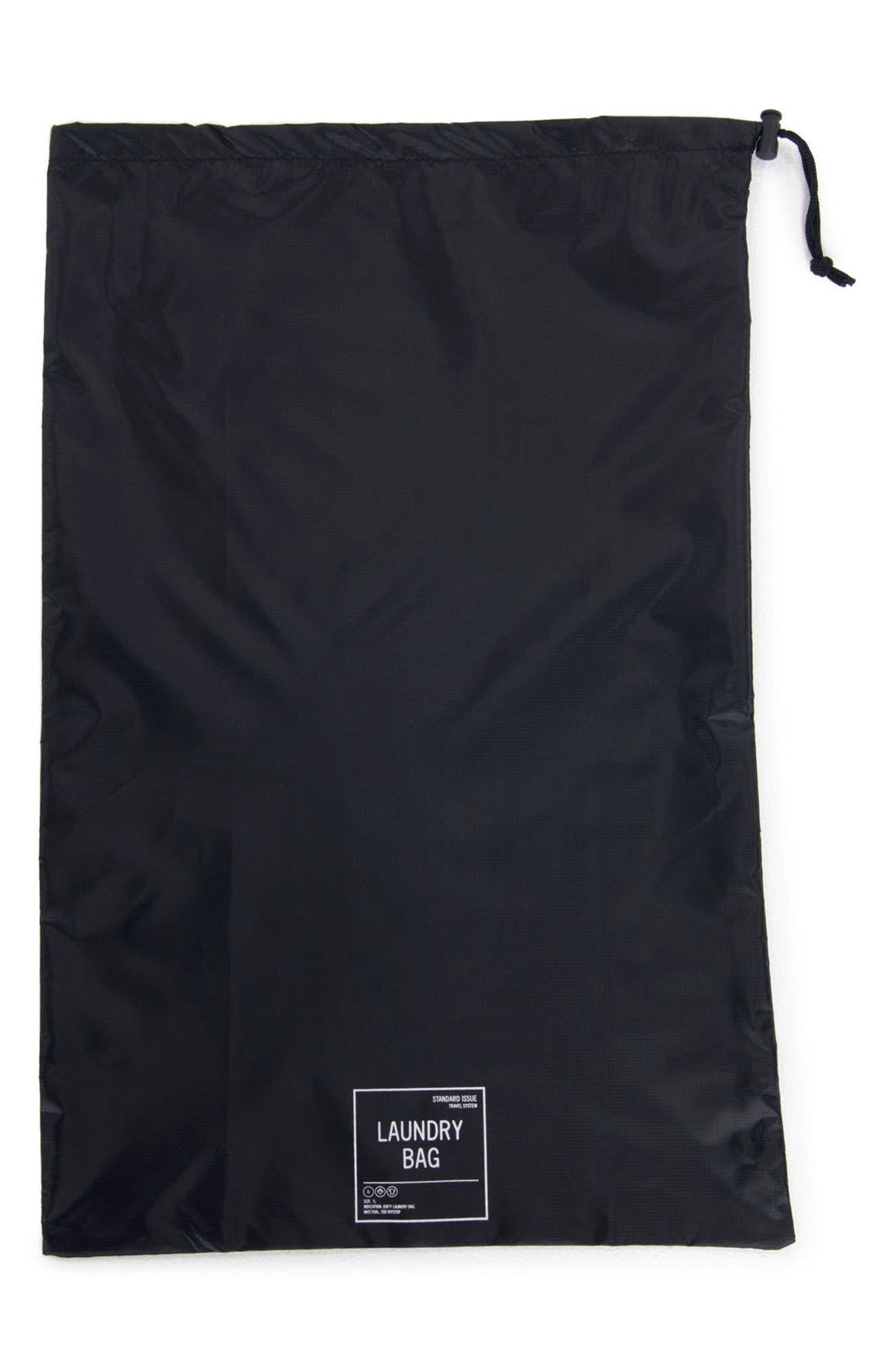 Laundry Bag Set,                             Alternate thumbnail 2, color,                             BLACK