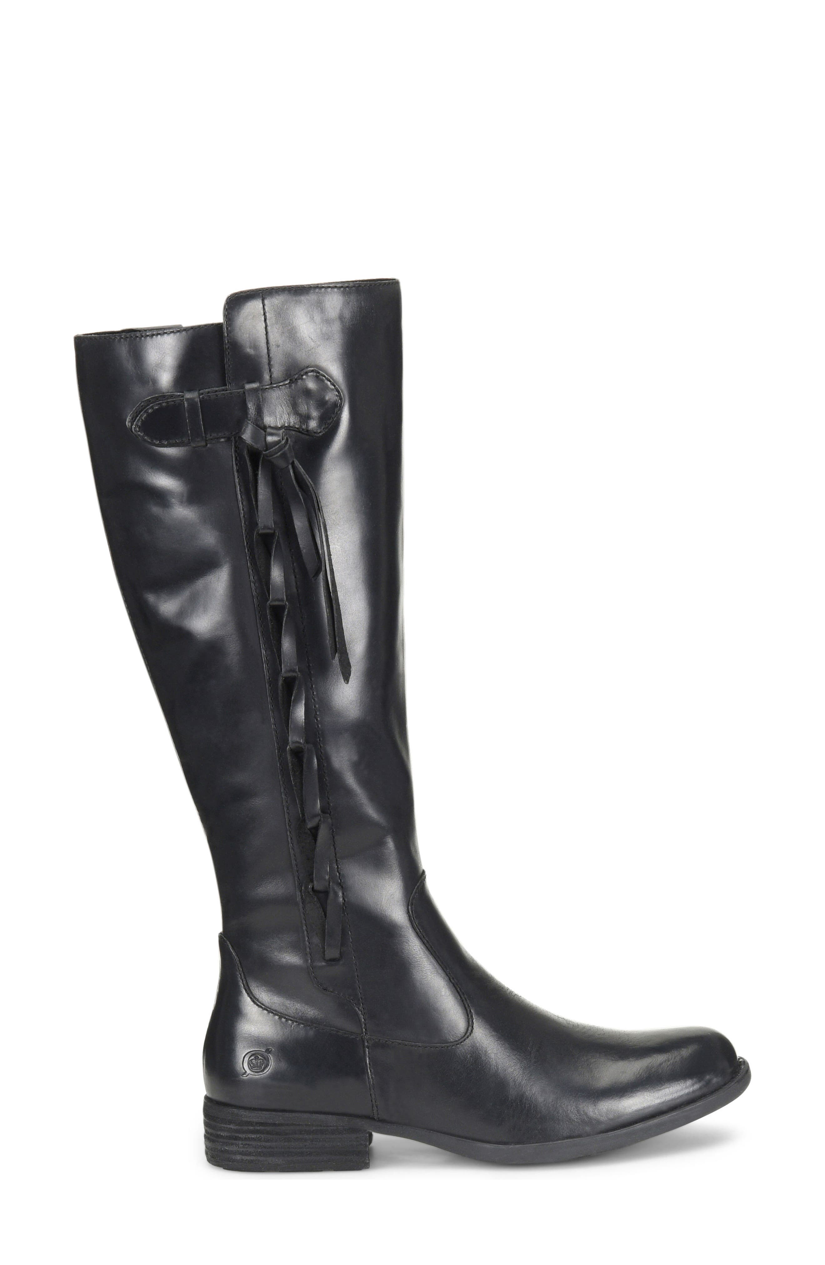 Cook Knee High Boot,                             Alternate thumbnail 3, color,                             001