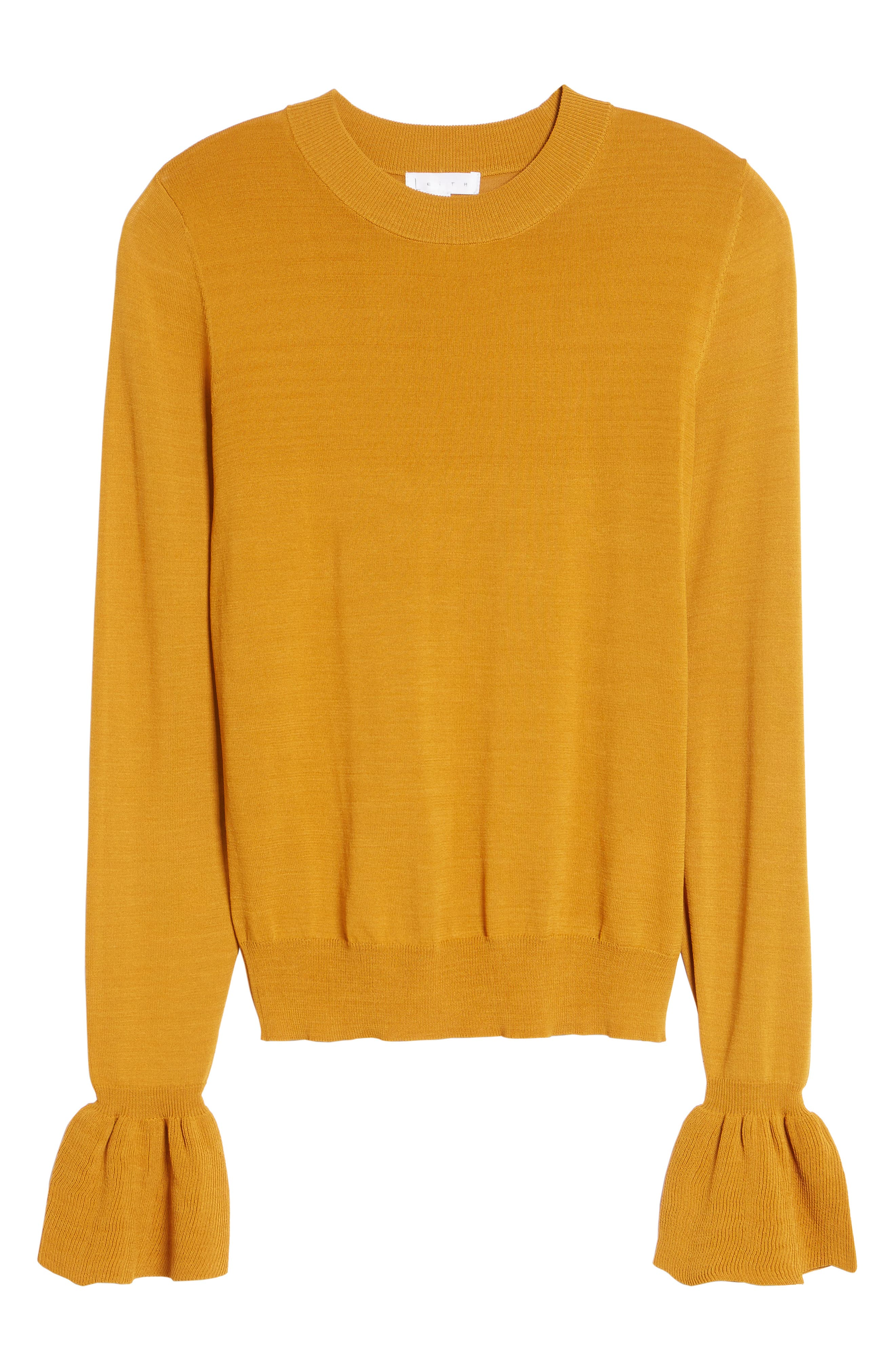 Flare Cuff Sweater,                             Alternate thumbnail 6, color,                             230