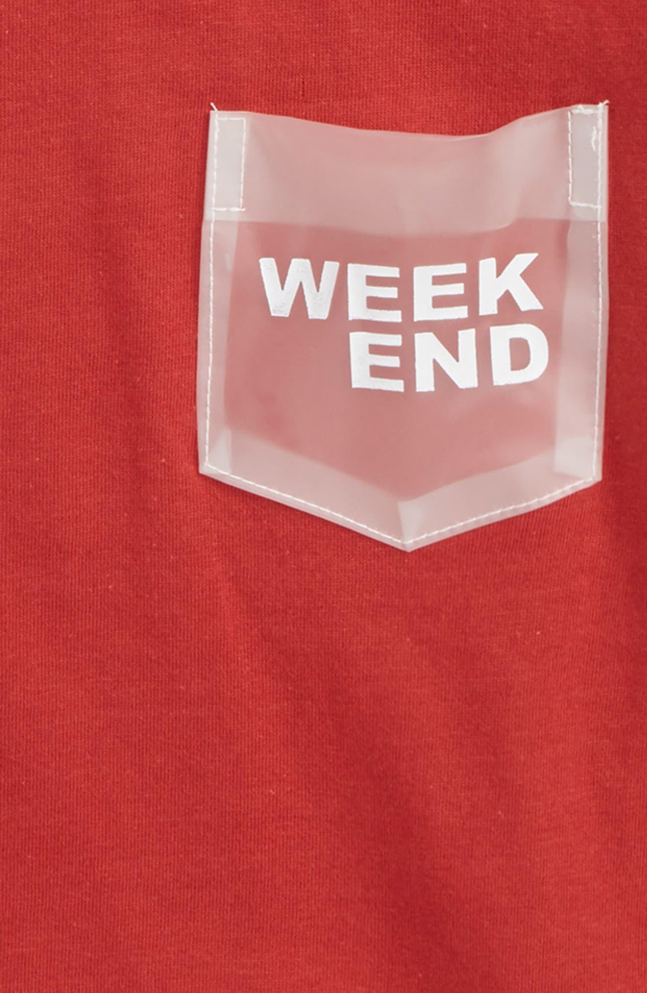 Lacy Pocket T-Shirt,                             Alternate thumbnail 2, color,                             600