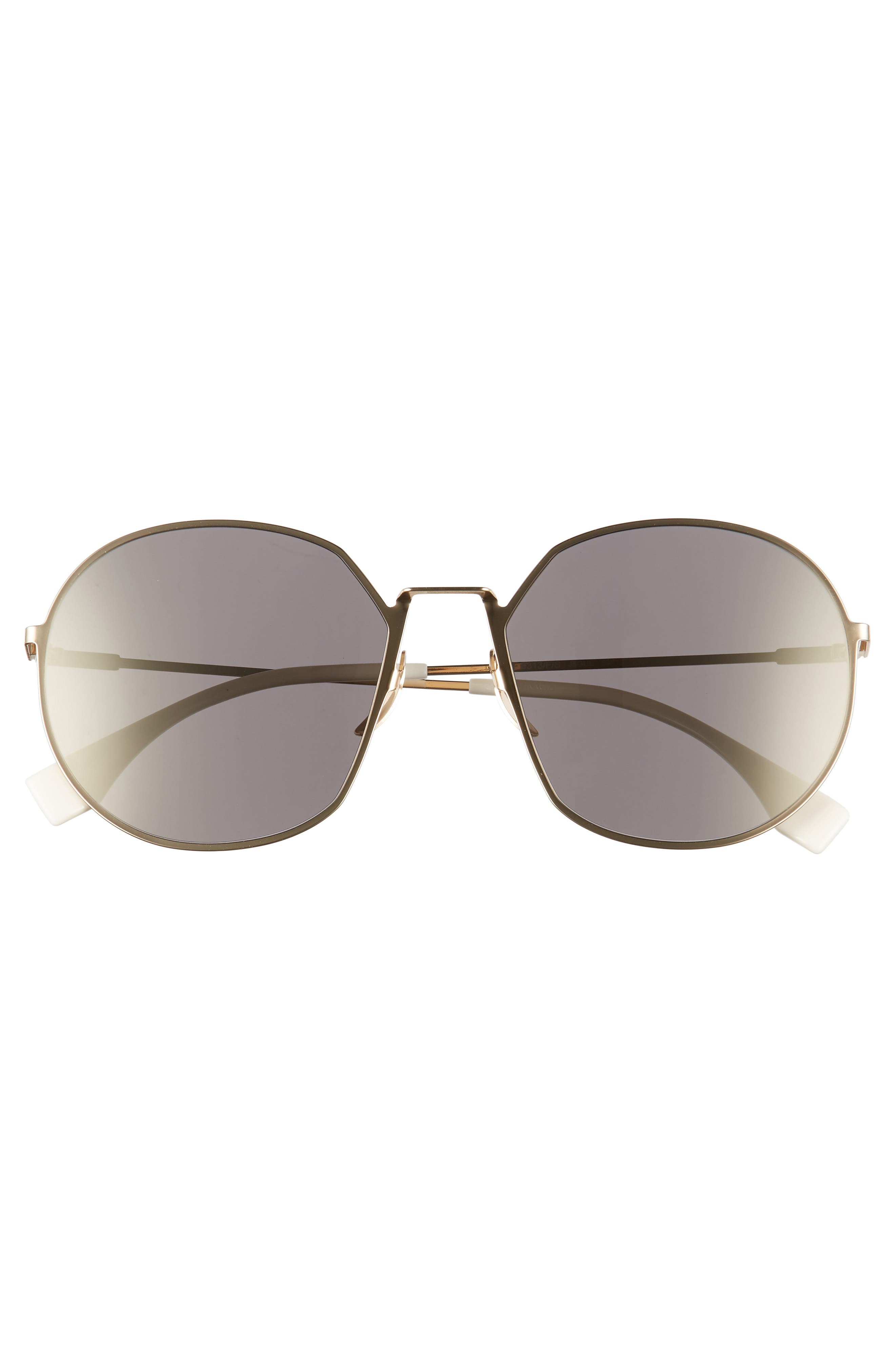 59mm Round Special Fit Sunglasses,                             Alternate thumbnail 12, color,