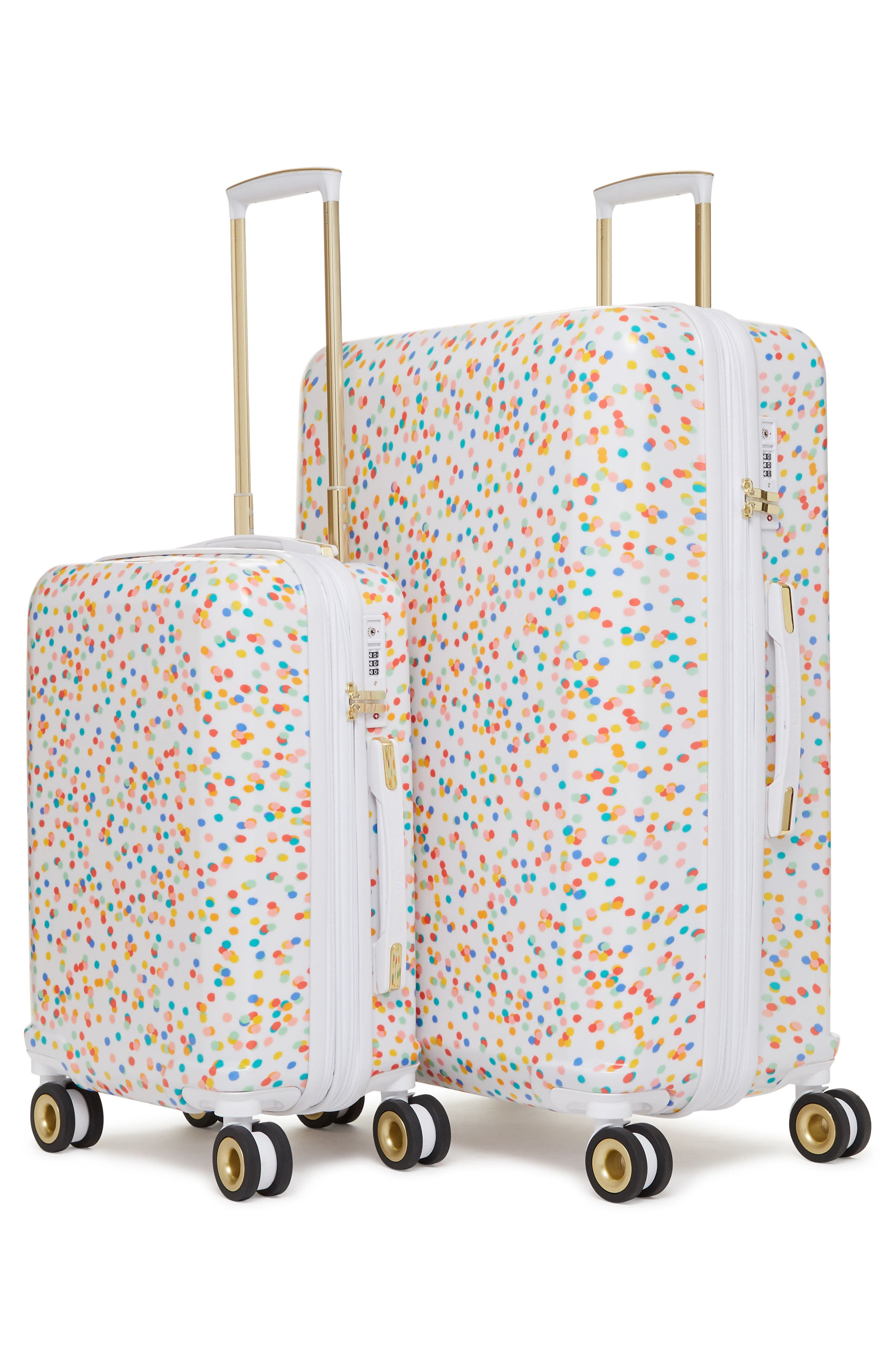 x Oh Joy! 28-Inch & 20-Inch Hardshell Spinner Suitcase & Carry-On Set,                             Alternate thumbnail 2, color,                             100