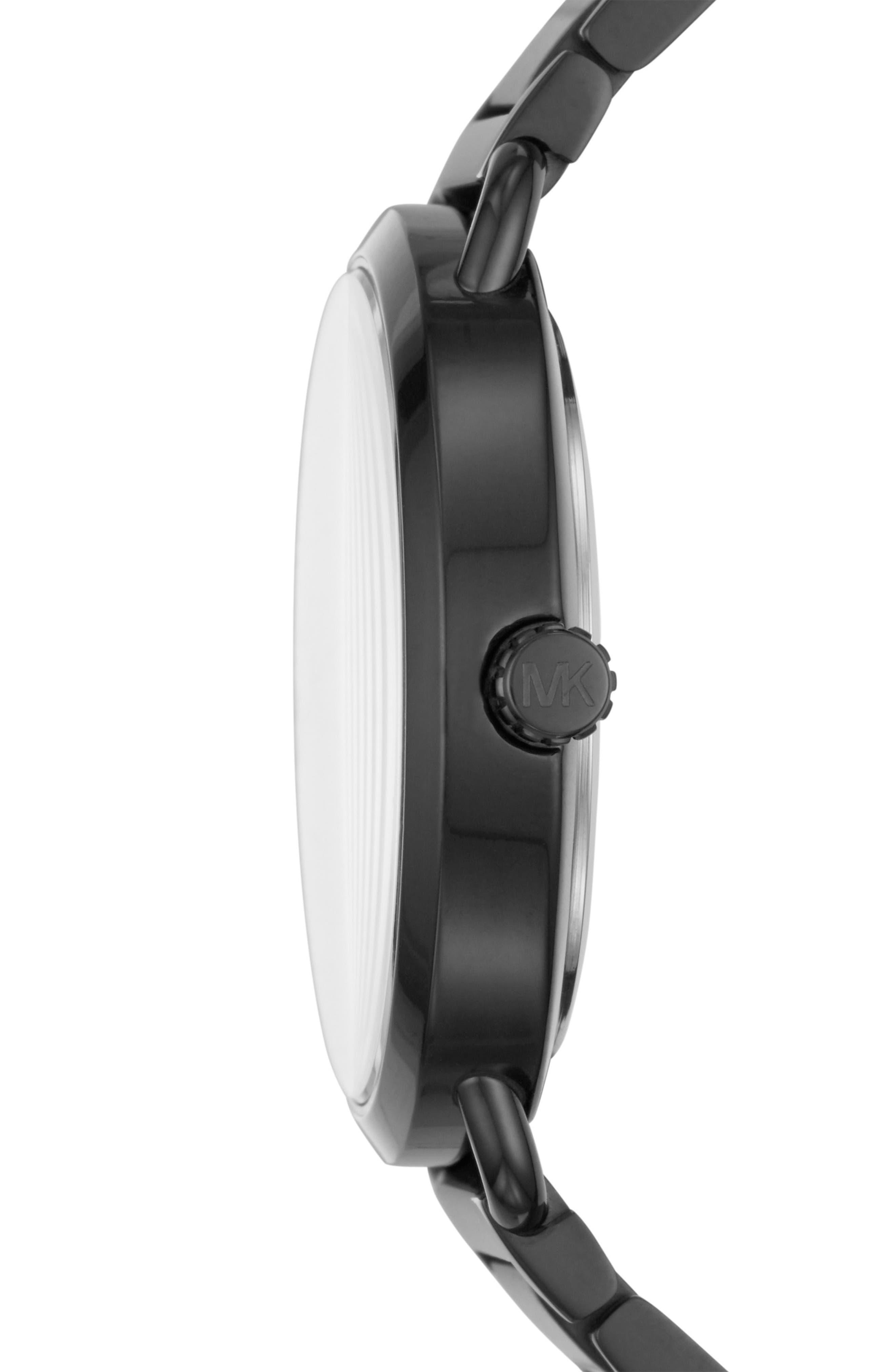 Portia Bracelet Watch, 36.5mm,                             Alternate thumbnail 2, color,                             001