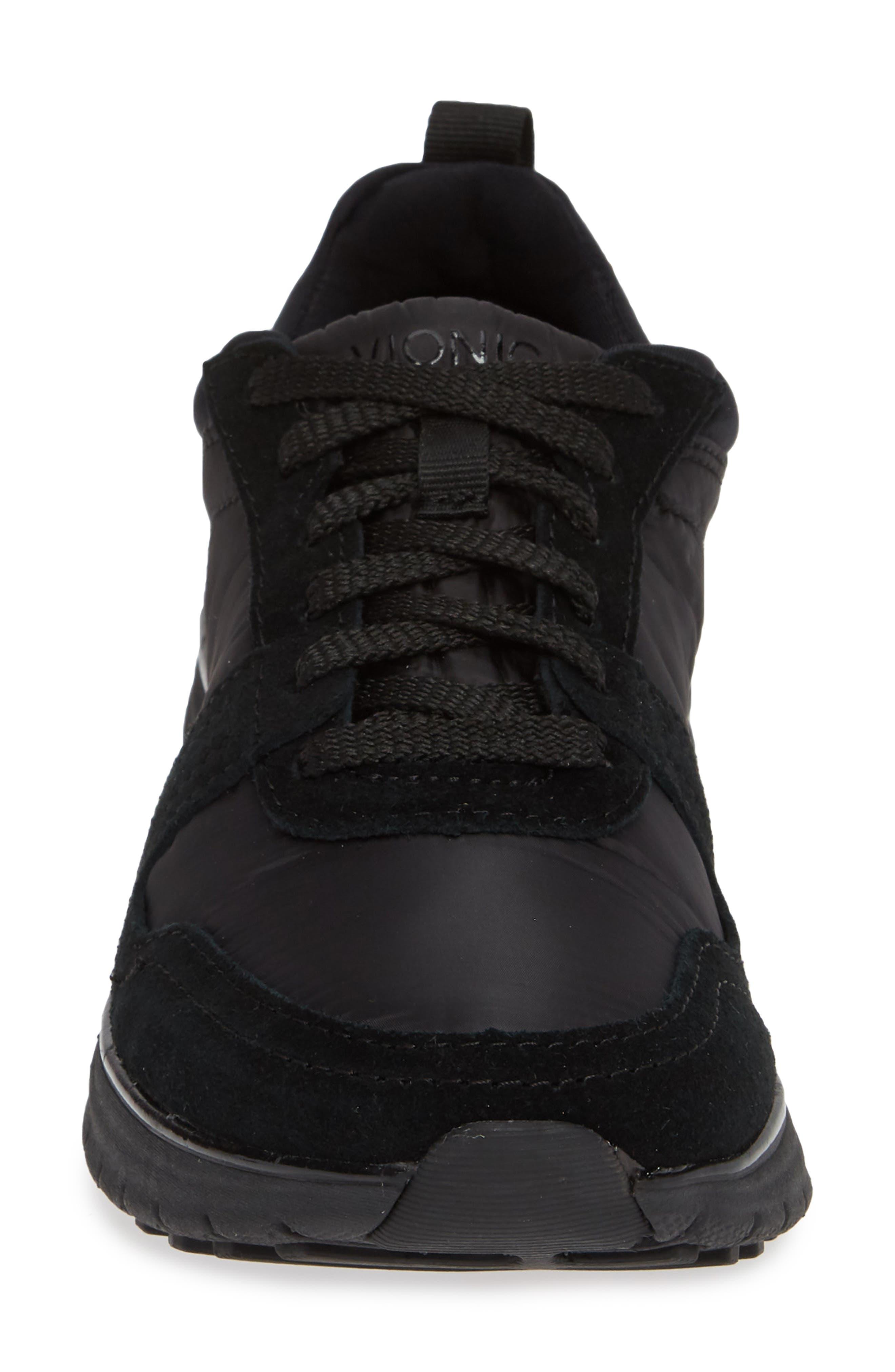 VIONIC,                             Emerson Low Top Sneaker,                             Alternate thumbnail 4, color,                             001