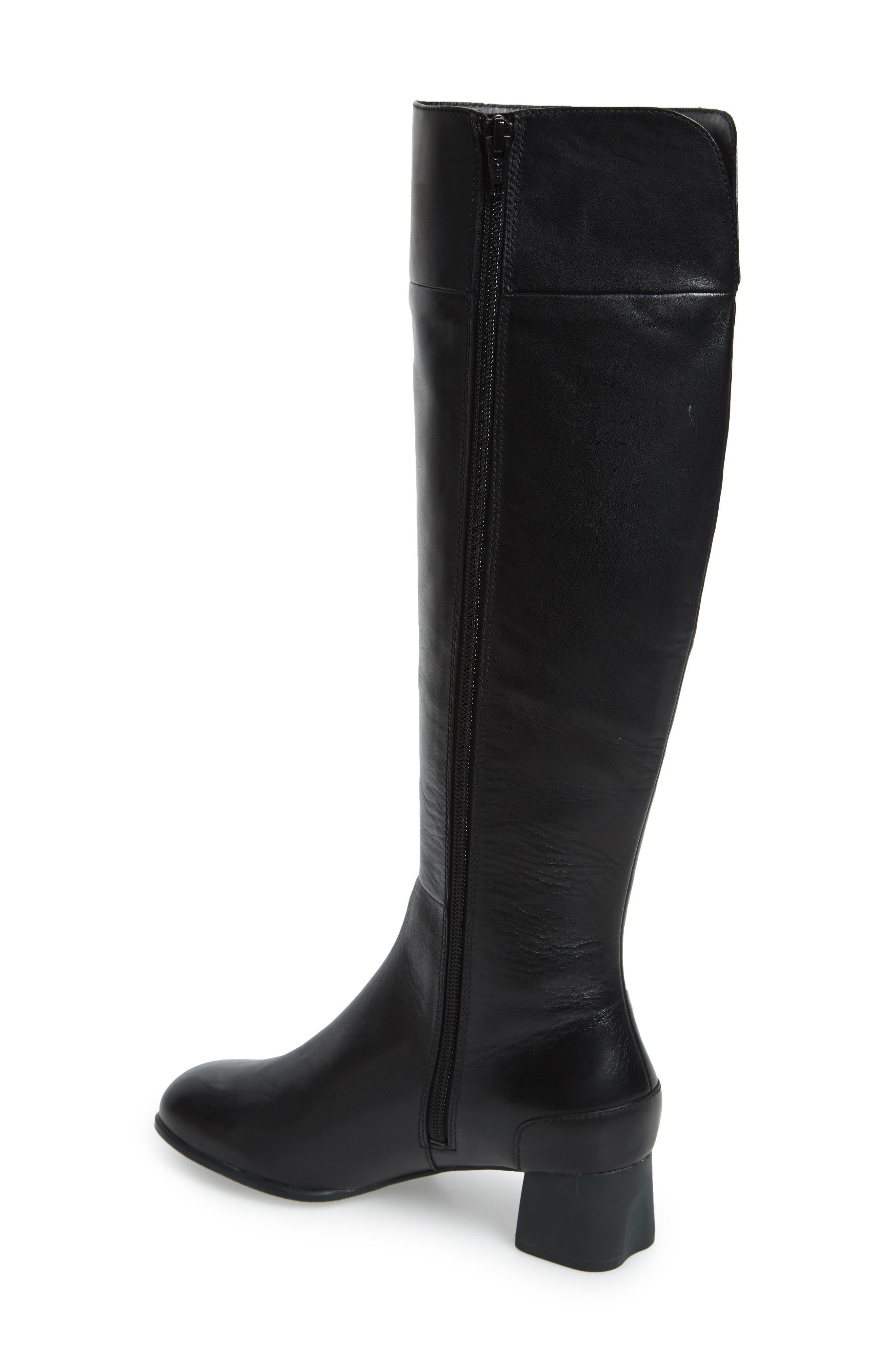 Katie Knee High Boot,                             Alternate thumbnail 2, color,                             001