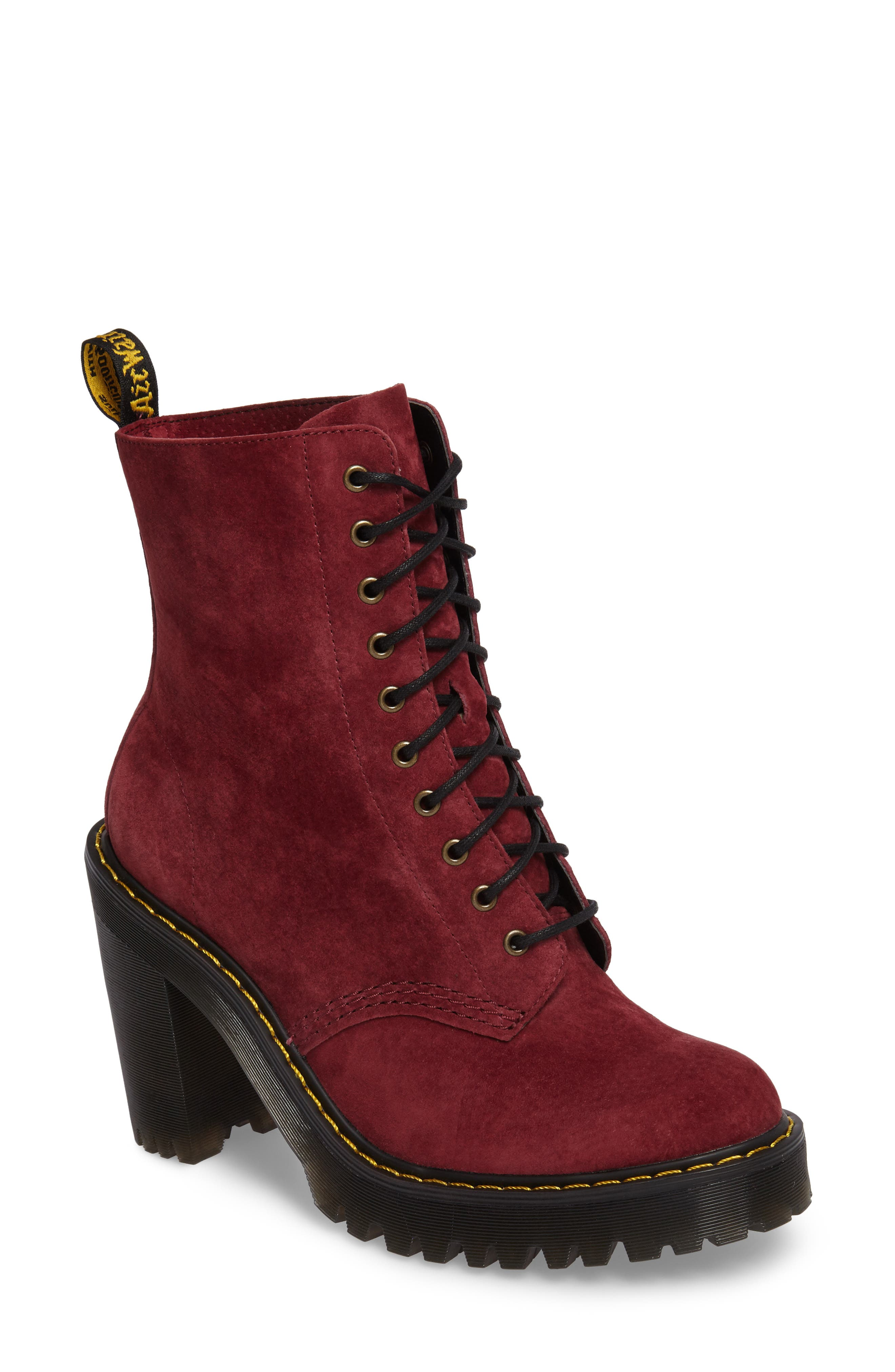 Kendra Heeled Bootie,                             Main thumbnail 2, color,