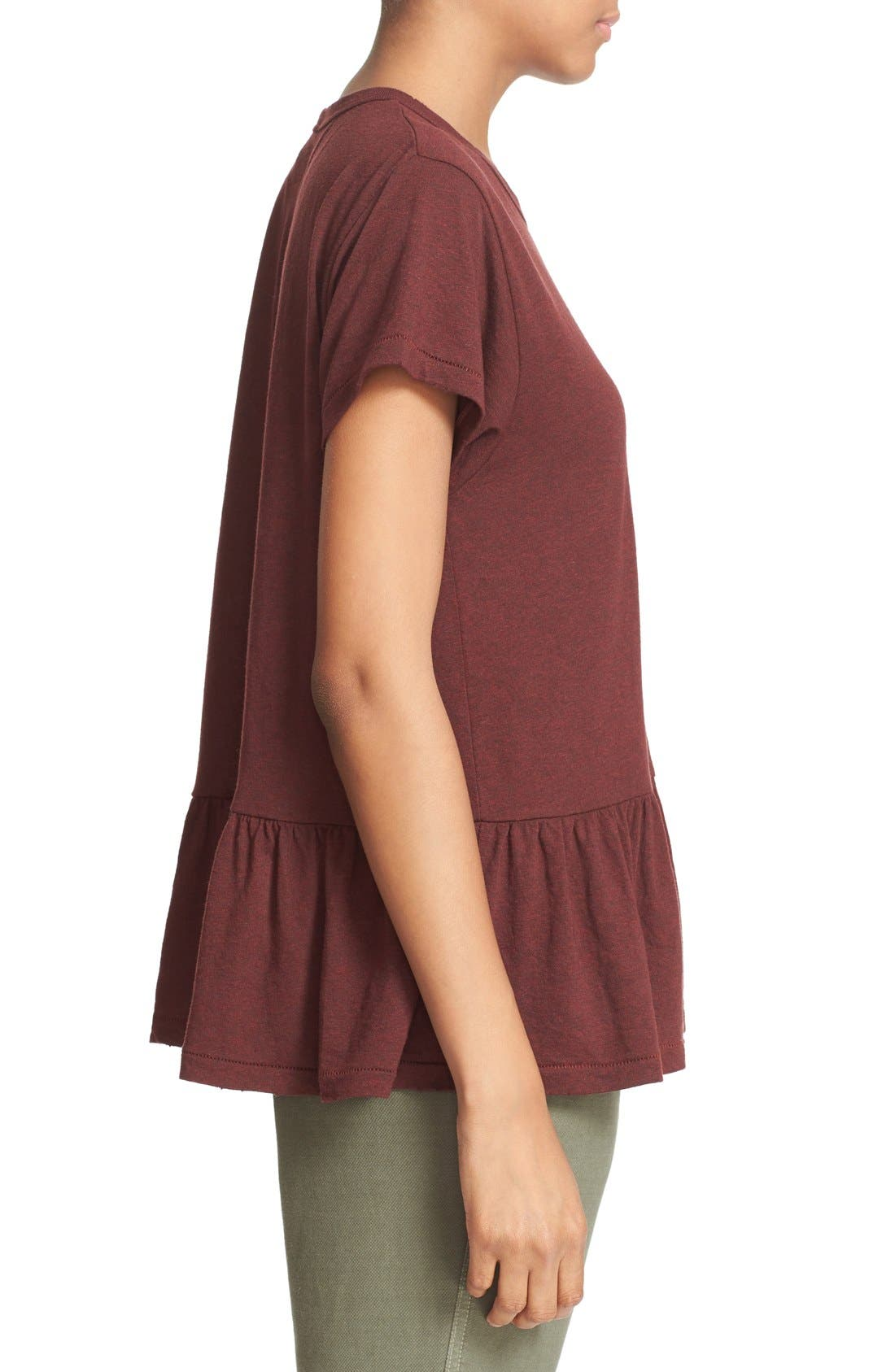 The Ruffle Tee,                             Alternate thumbnail 62, color,