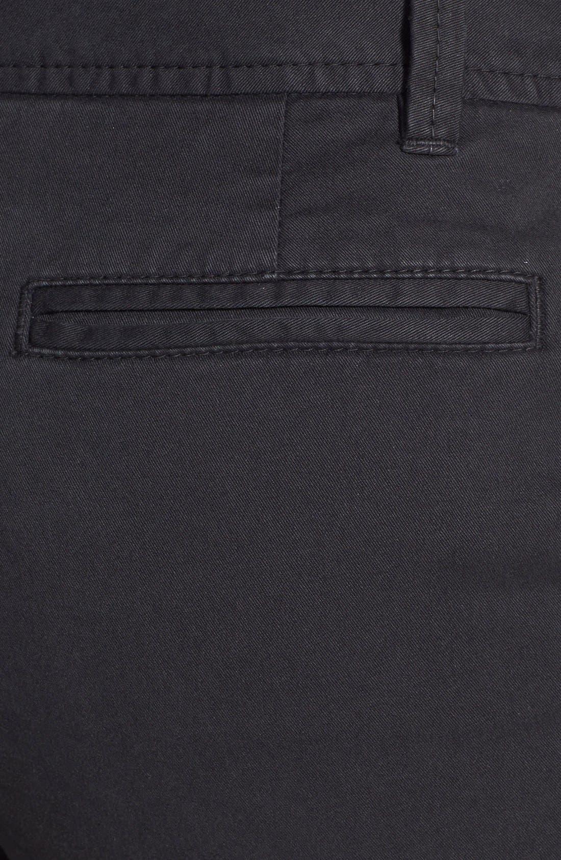 Clean Front Shorts,                             Alternate thumbnail 2, color,                             001