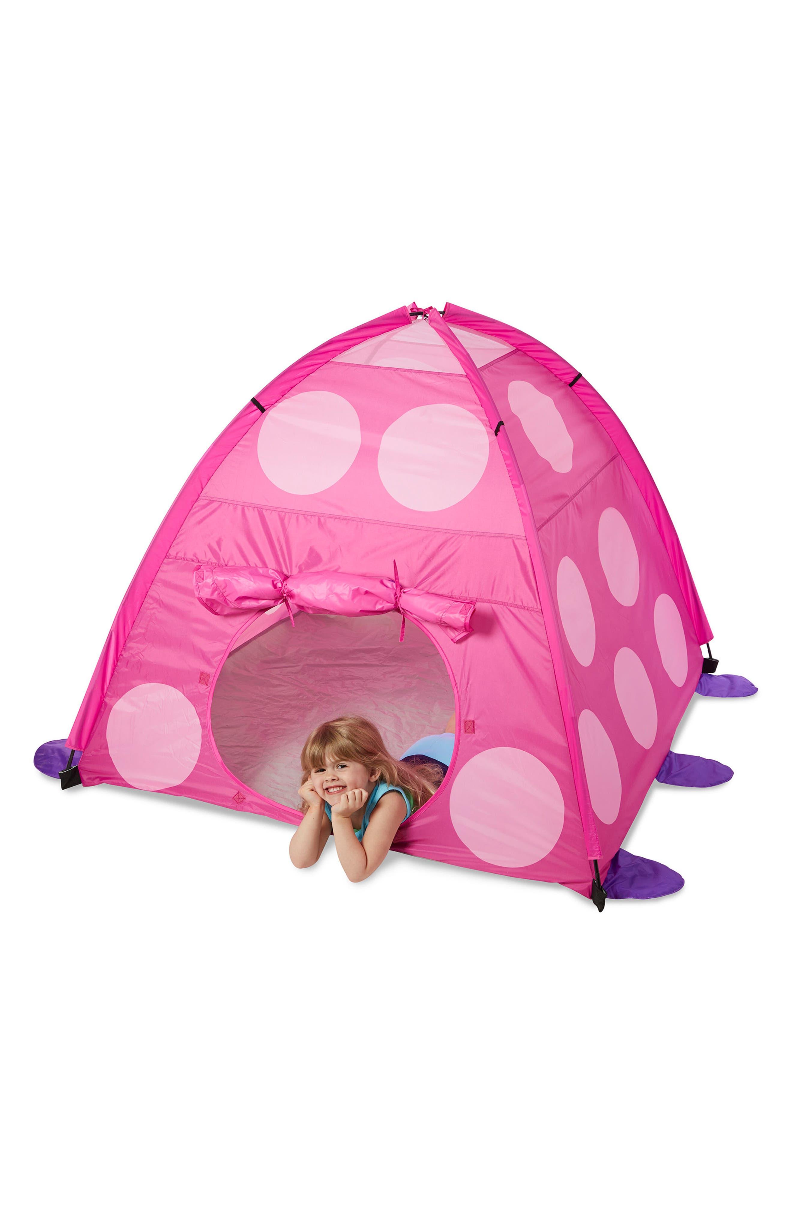 Trixie Ladybug Tent,                             Alternate thumbnail 3, color,                             650