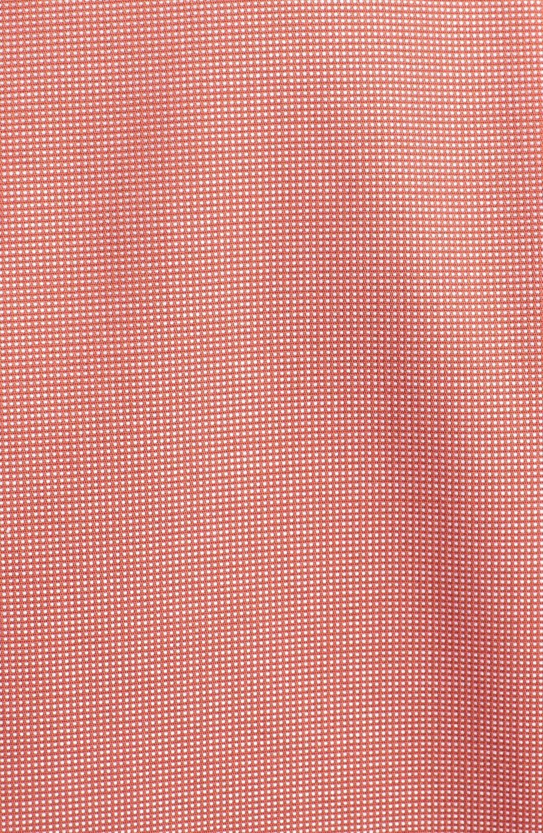 'Classic' Smartcare<sup>™</sup> Regular Fit Short Sleeve Cotton Sport Shirt,                             Alternate thumbnail 44, color,