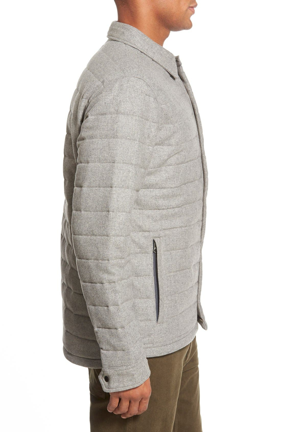 Quilted Field Jacket,                             Alternate thumbnail 5, color,                             050